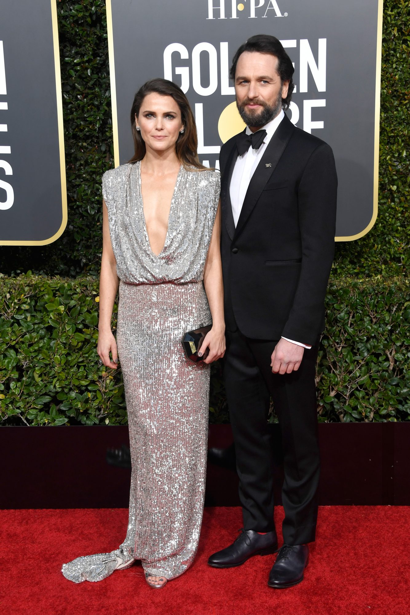 keri russell and matthew rhys 2019 golden globes