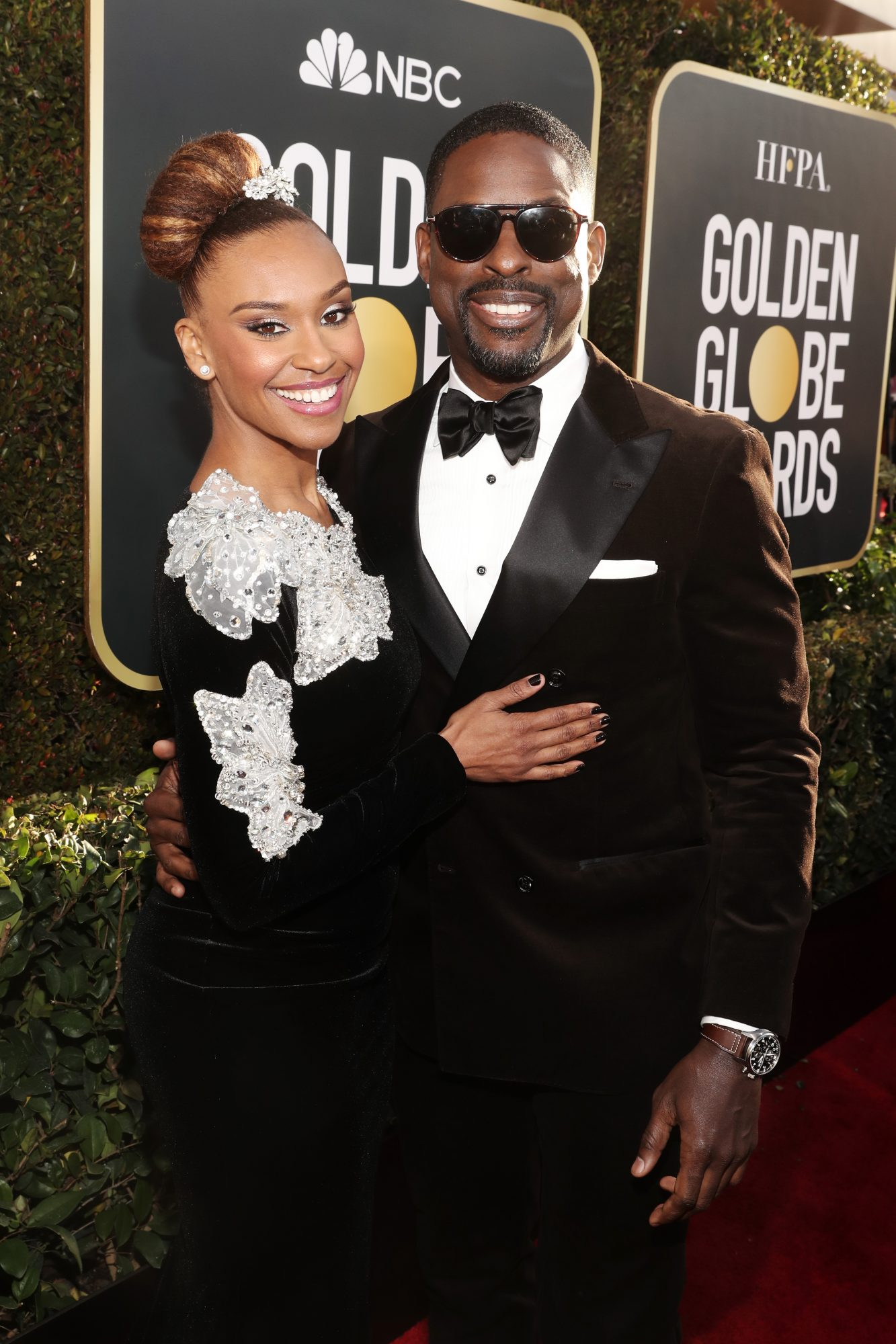 sterling k brown and ryan michelle bathe 2019 golden globes