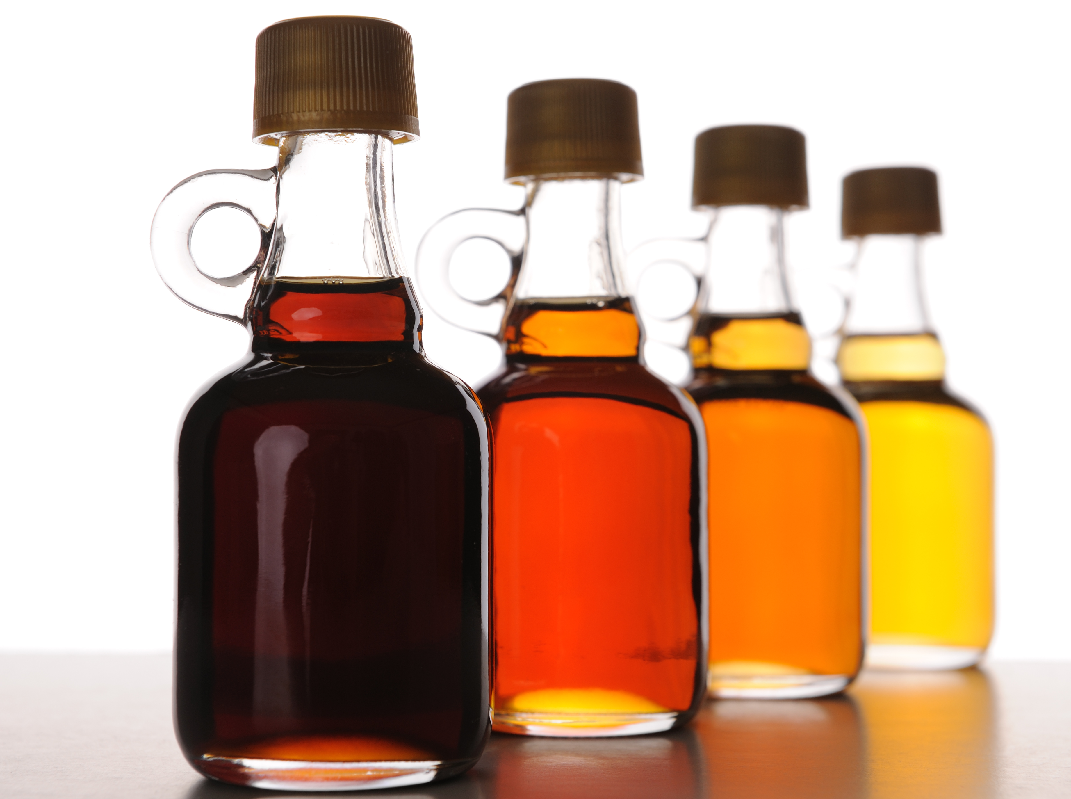 different types of maple syrup