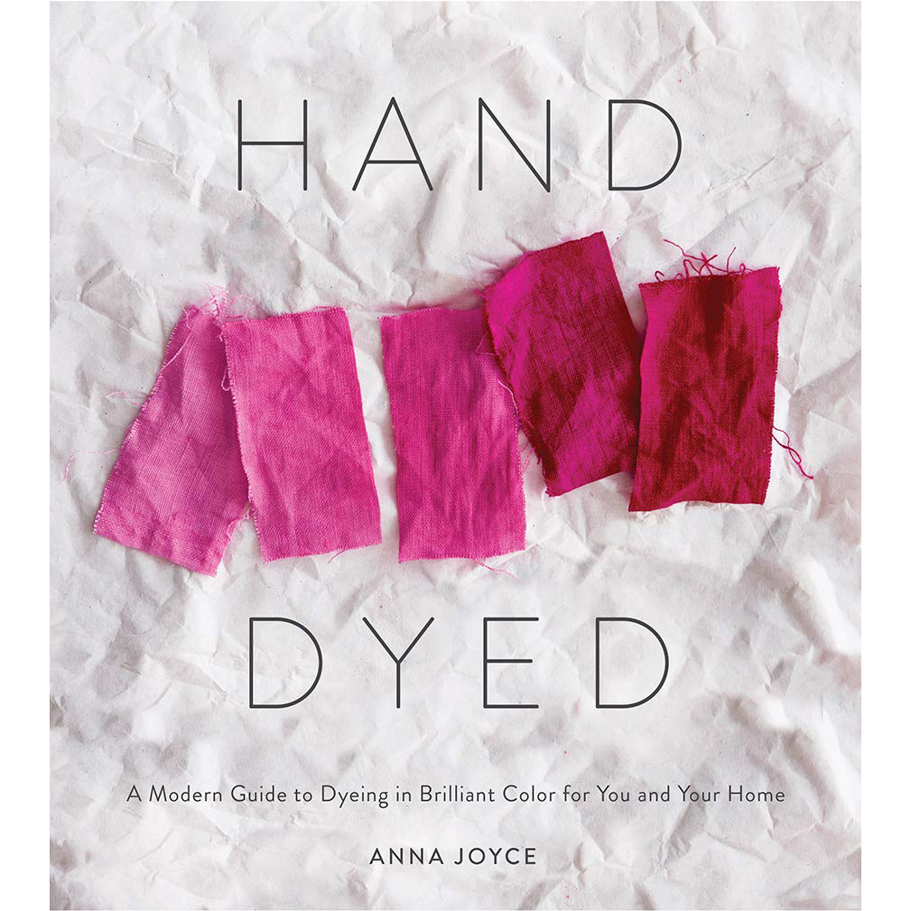 hand dyed book cover