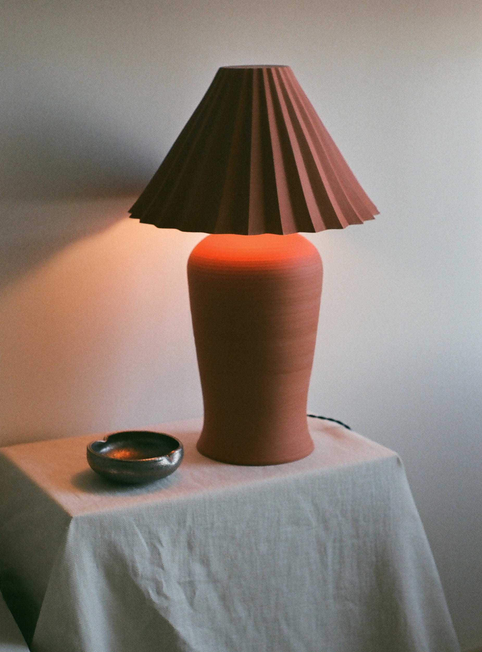 natalie weinberger ceramic lamp