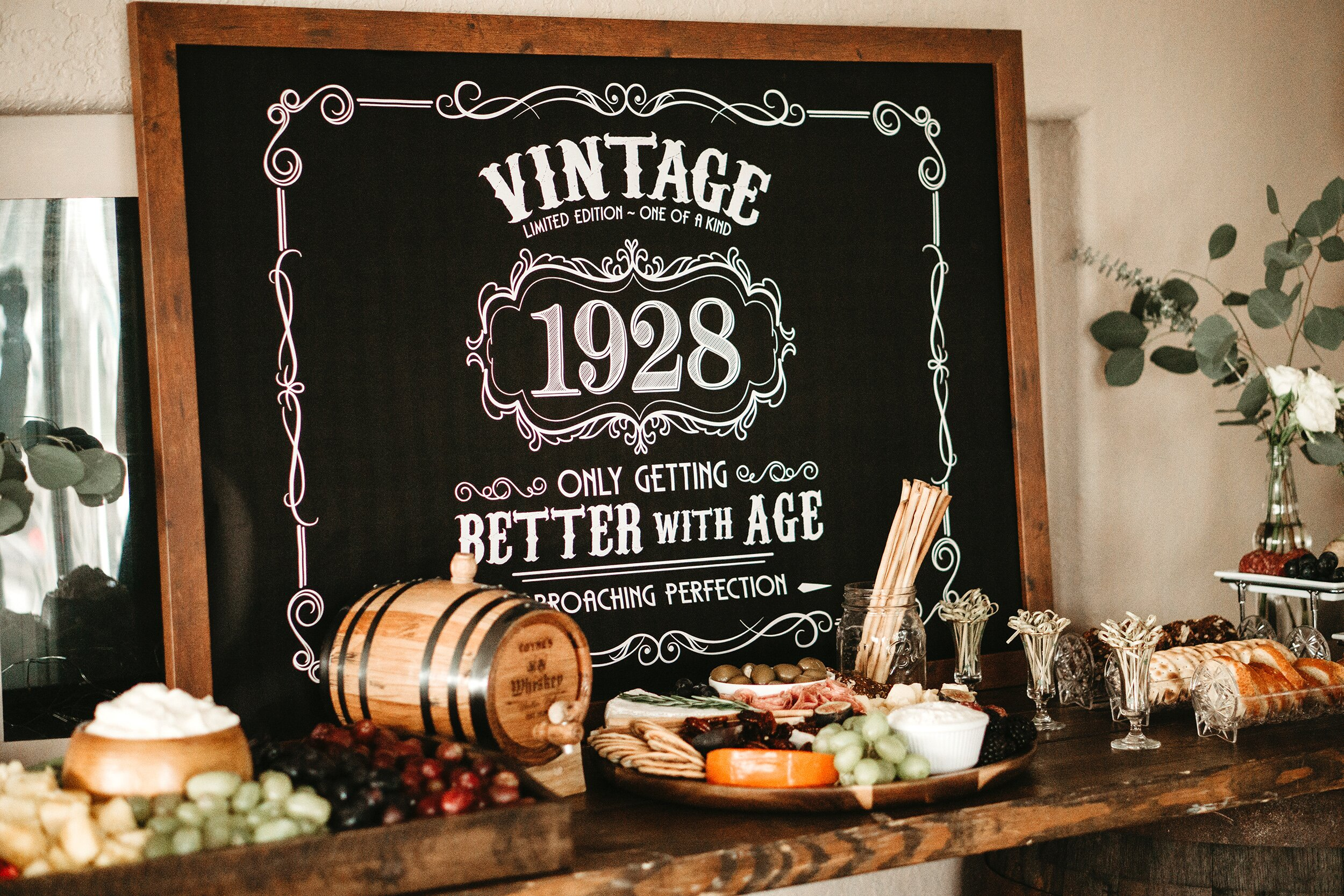 A Grandfather S 90th Birthday Party Is Aged To Perfection