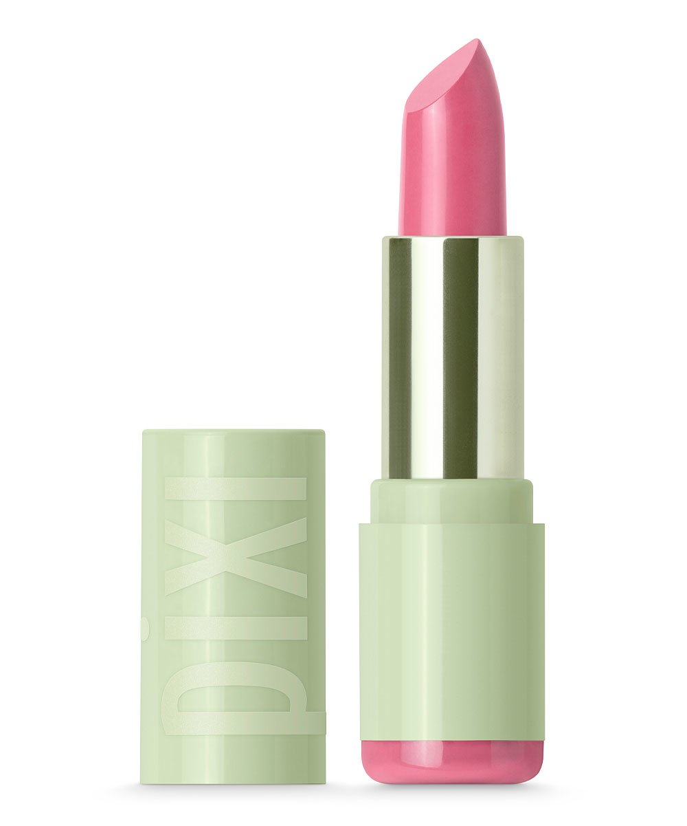 pixi beauty mattelustre lipstick in petal pink