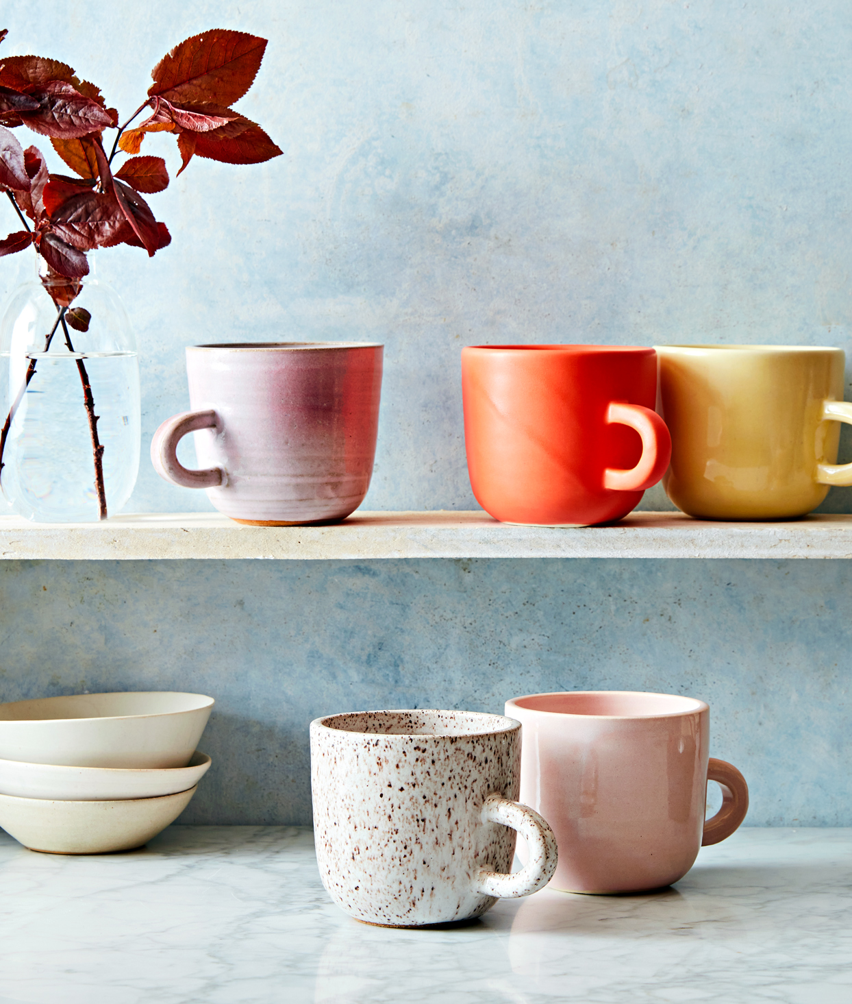 cups and bowls from Ank Ceramics based in Maine