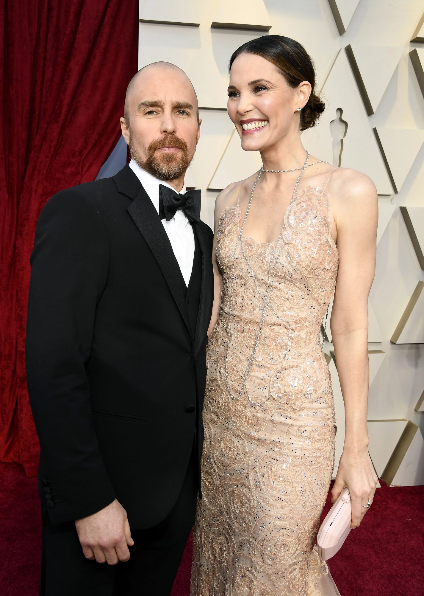 sam rockwell and leslie bibb oscars 2019