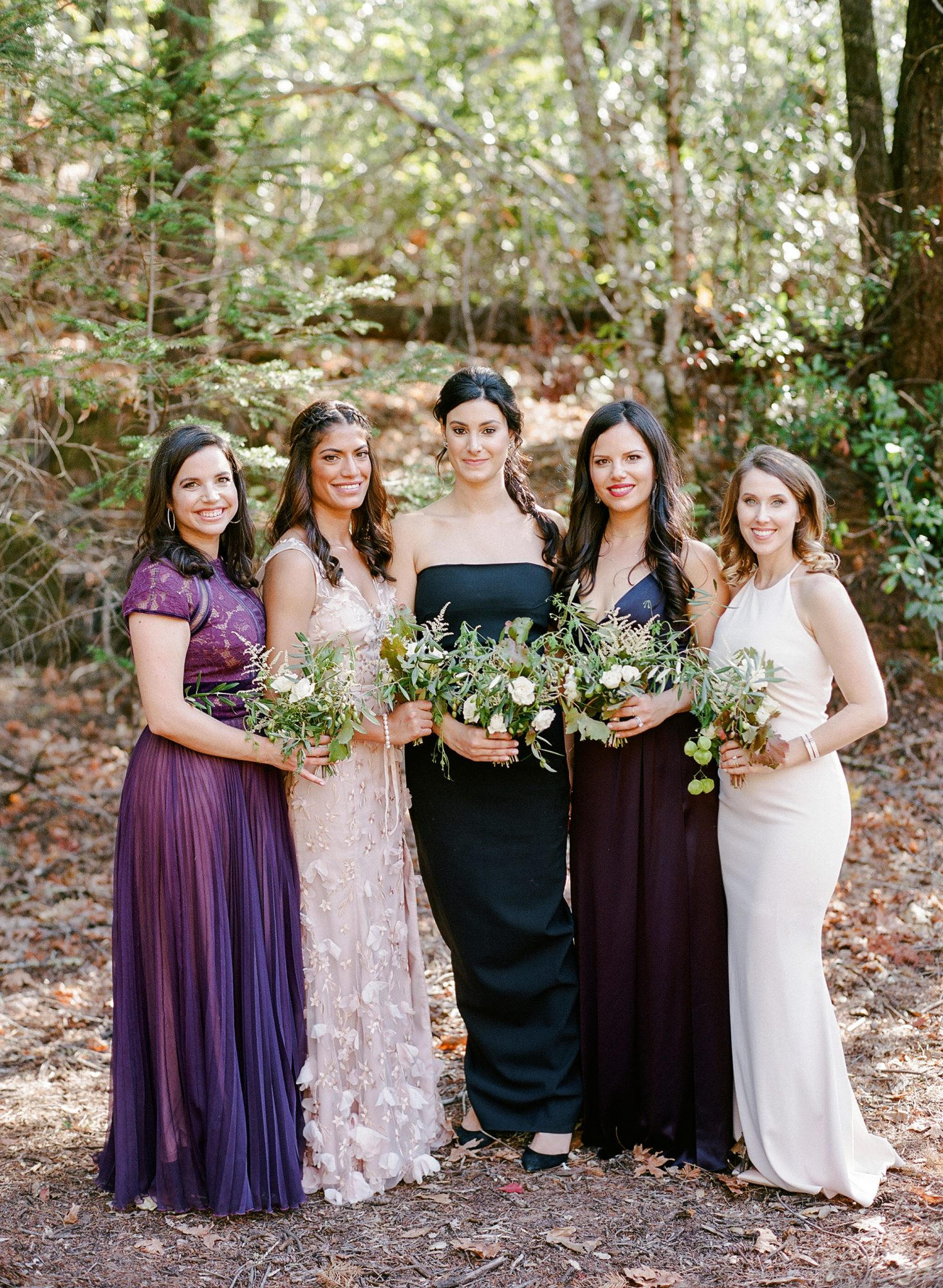 cristina chris wedding bridesmaids