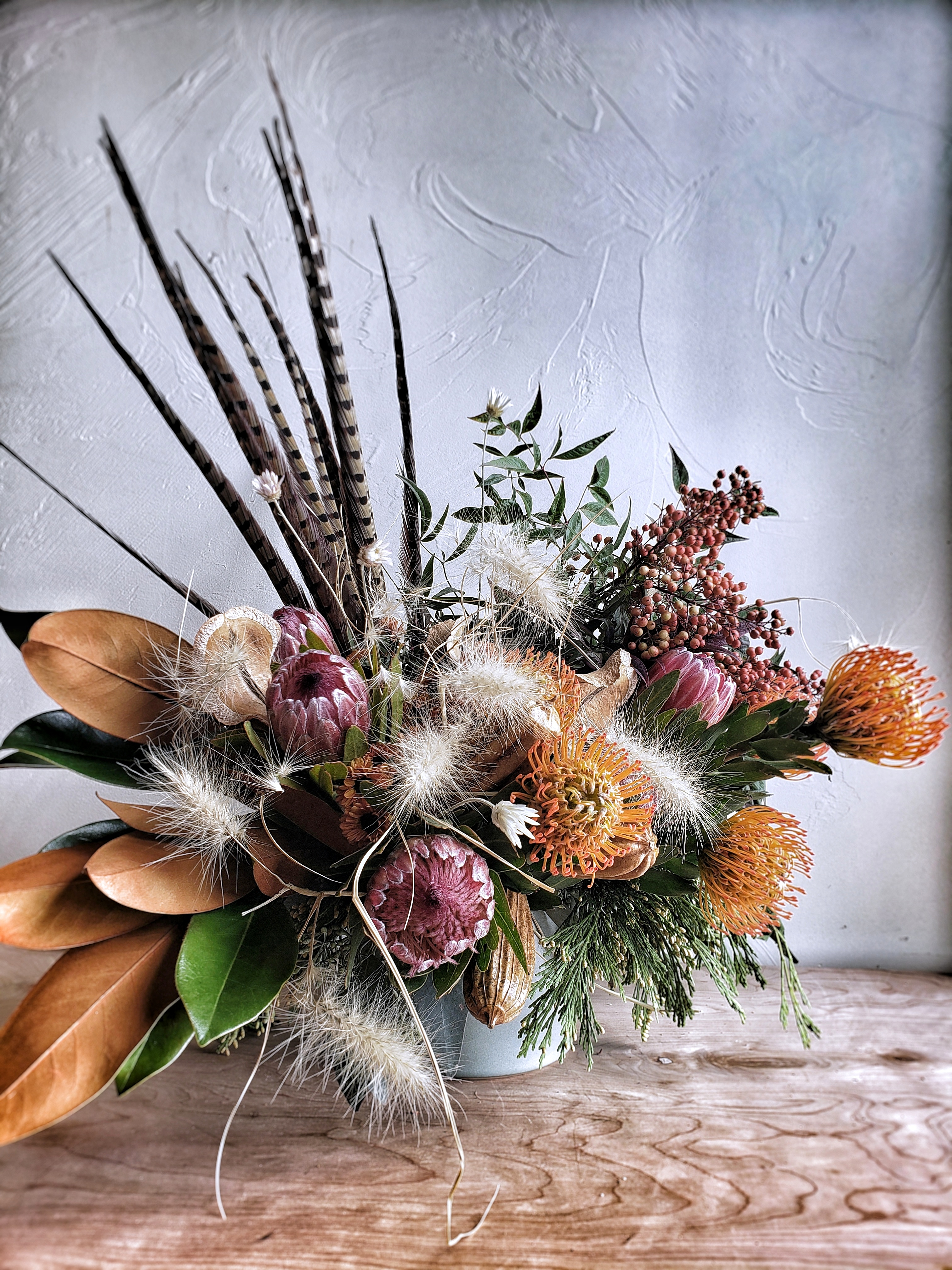 now trending: dried flowers