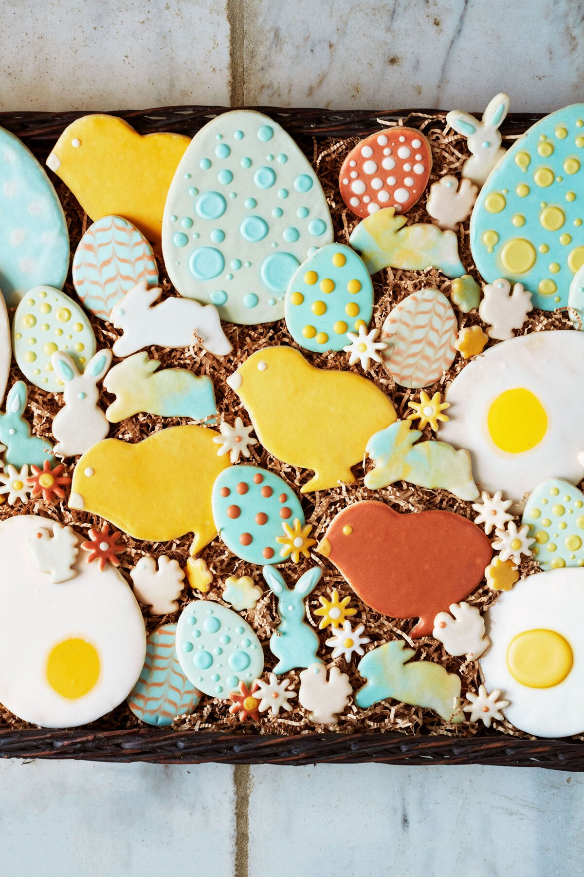 Three Quick Easter Cookie-Decorating Techniques | Martha Stewart