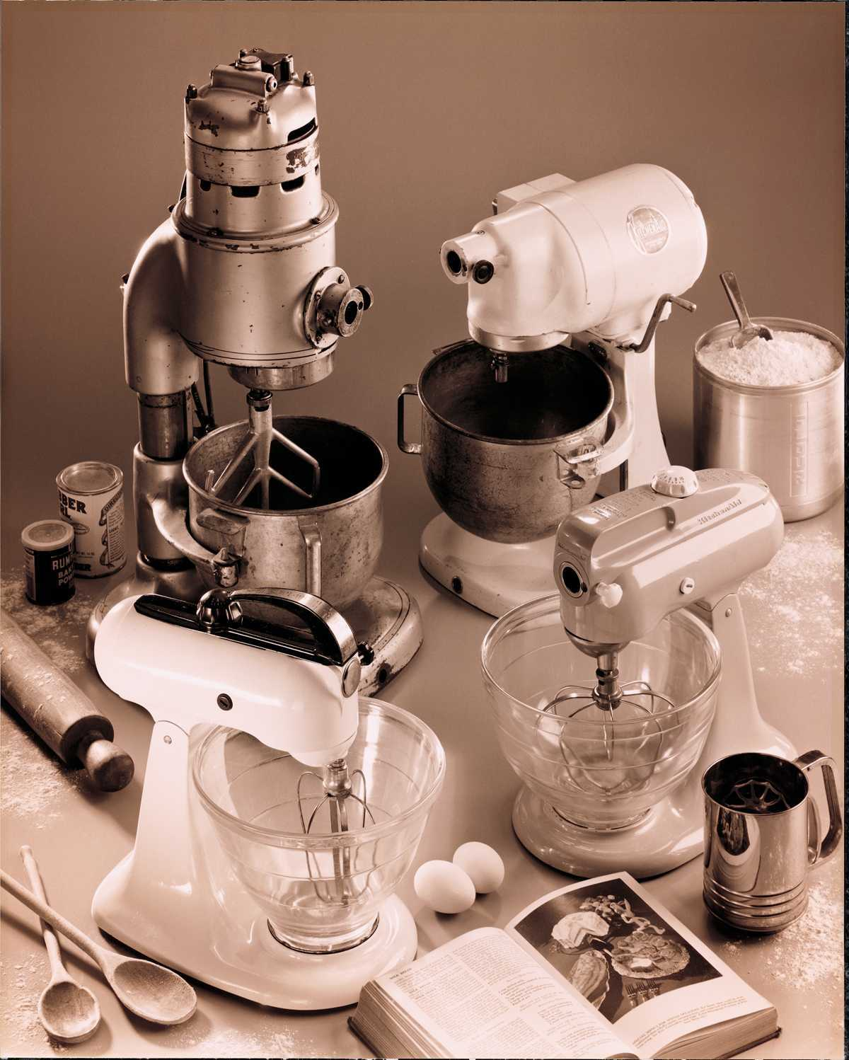 historical stand mixers