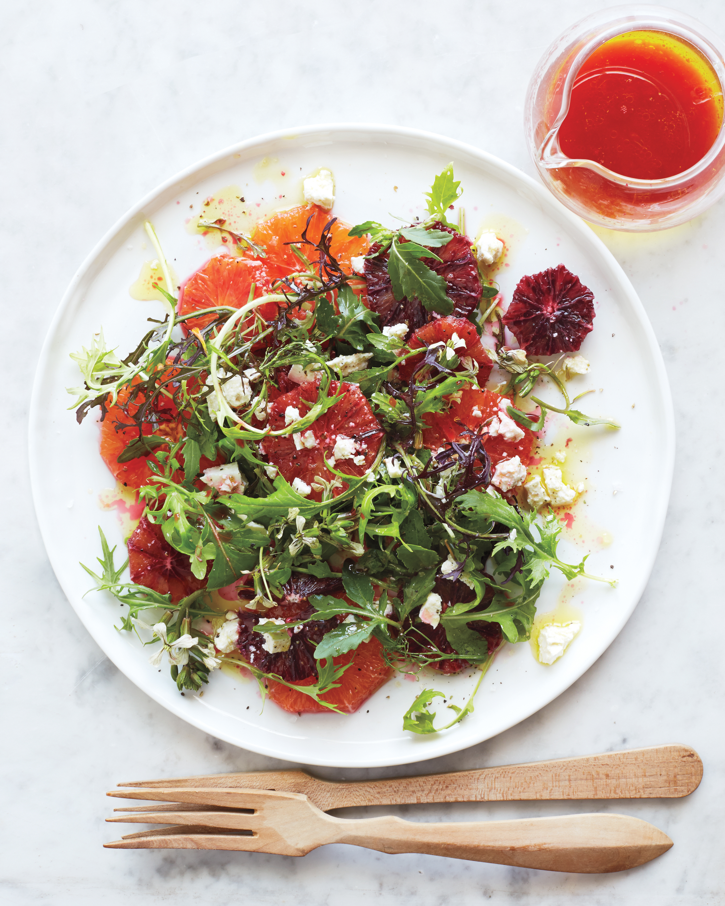 Cara Cara and Blood-Orange Salad with Ricotta Salata