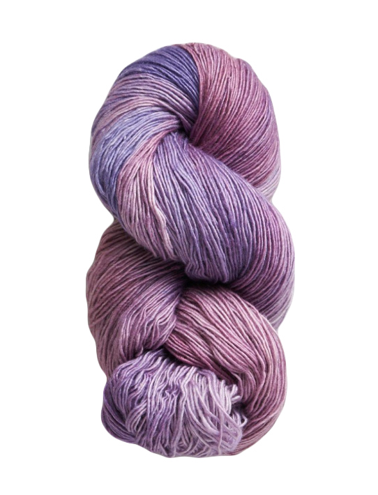 purple yarn manos del uruguay