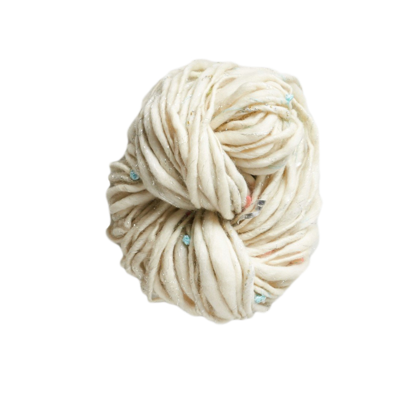 knit collage yarn ball