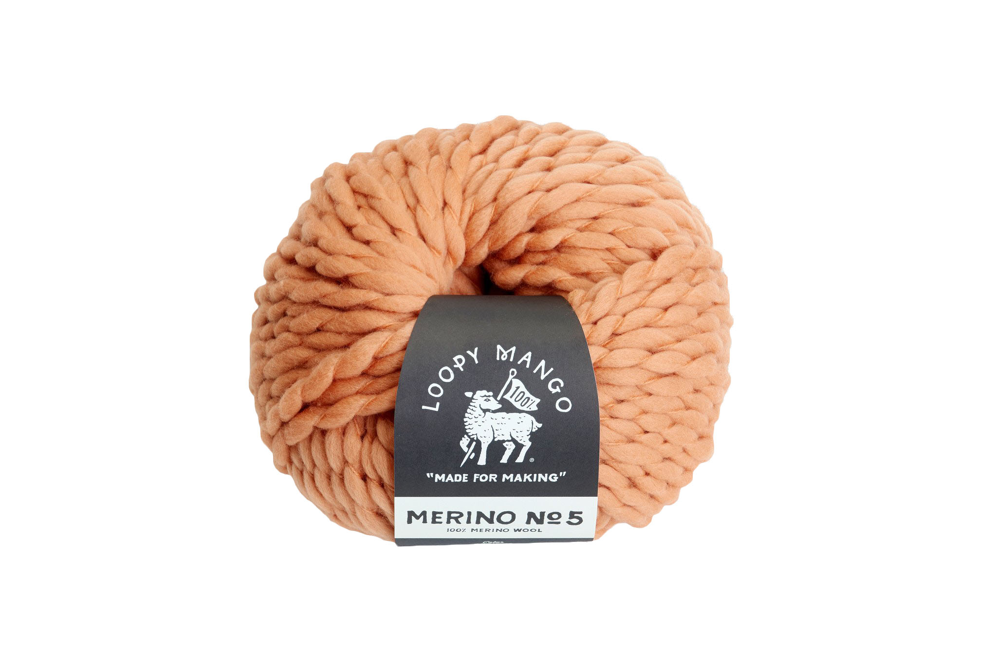 loopy mango wool yarn