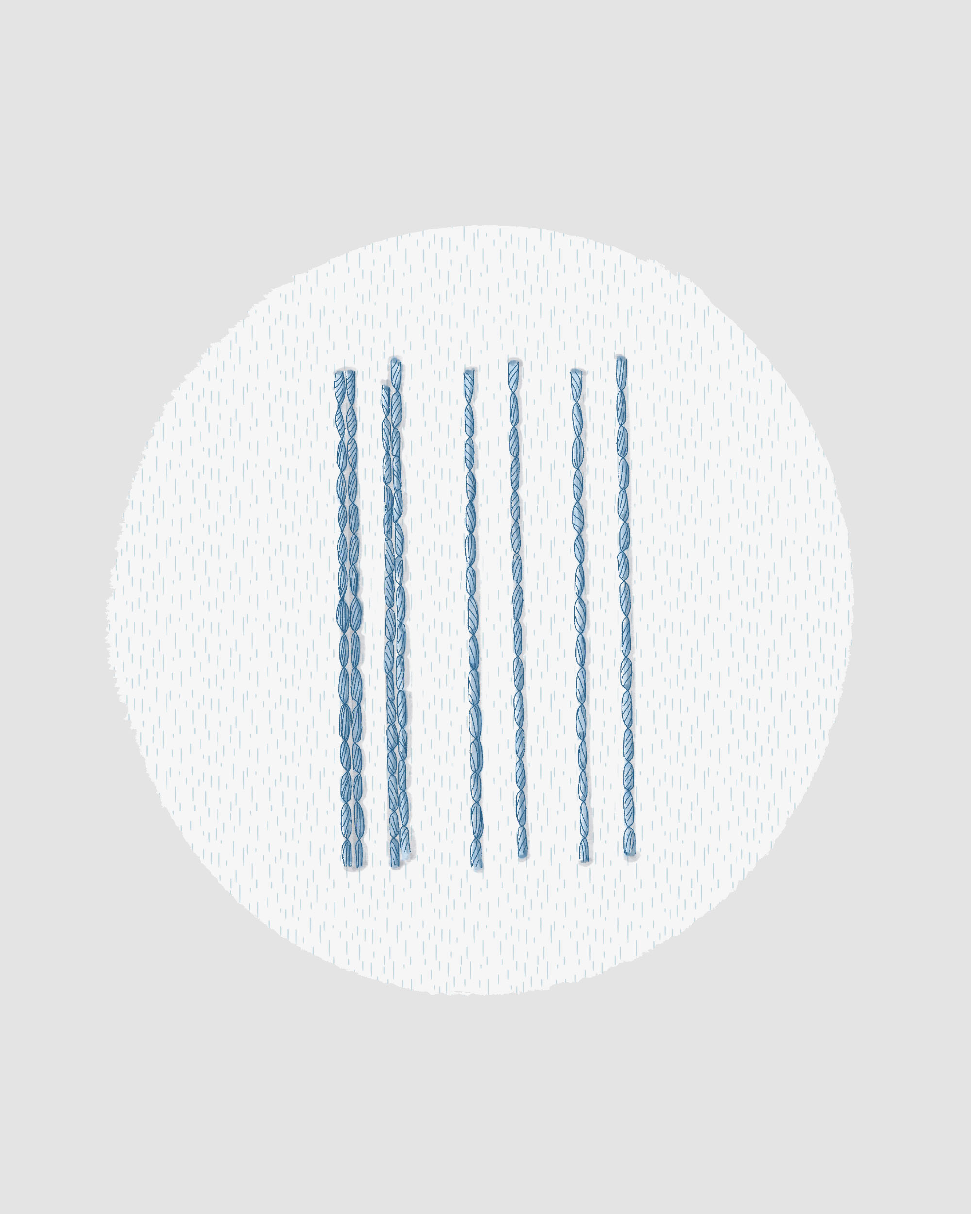 back stitch in embroidery