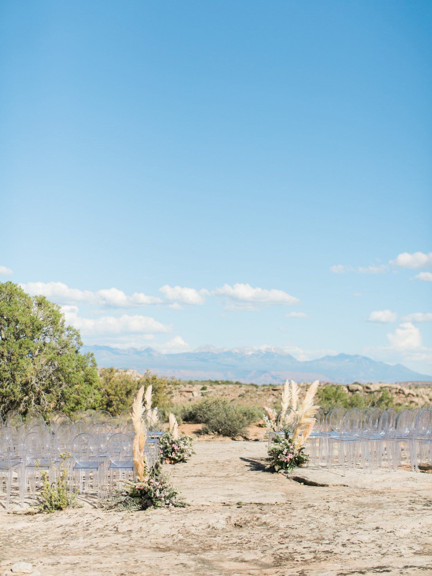 jeanette david wedding desert ceremony site
