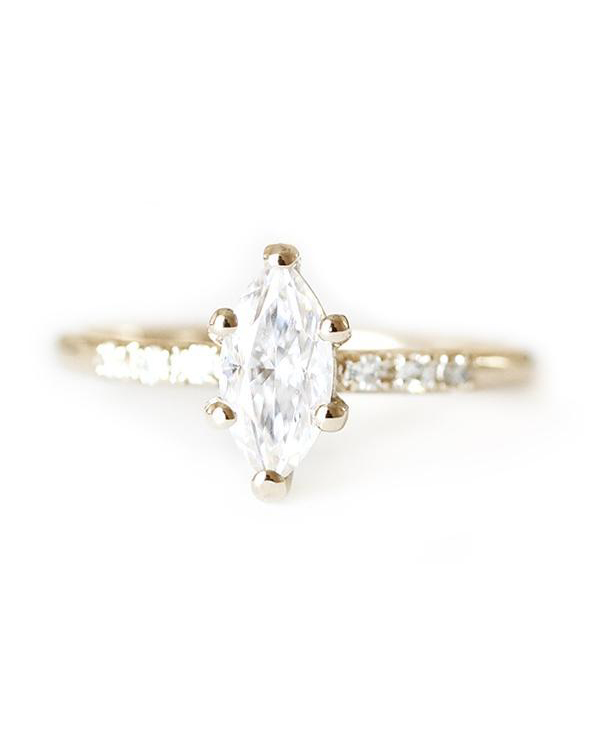 Andrea Bonelli Marquise Moissanite Tryst Ring