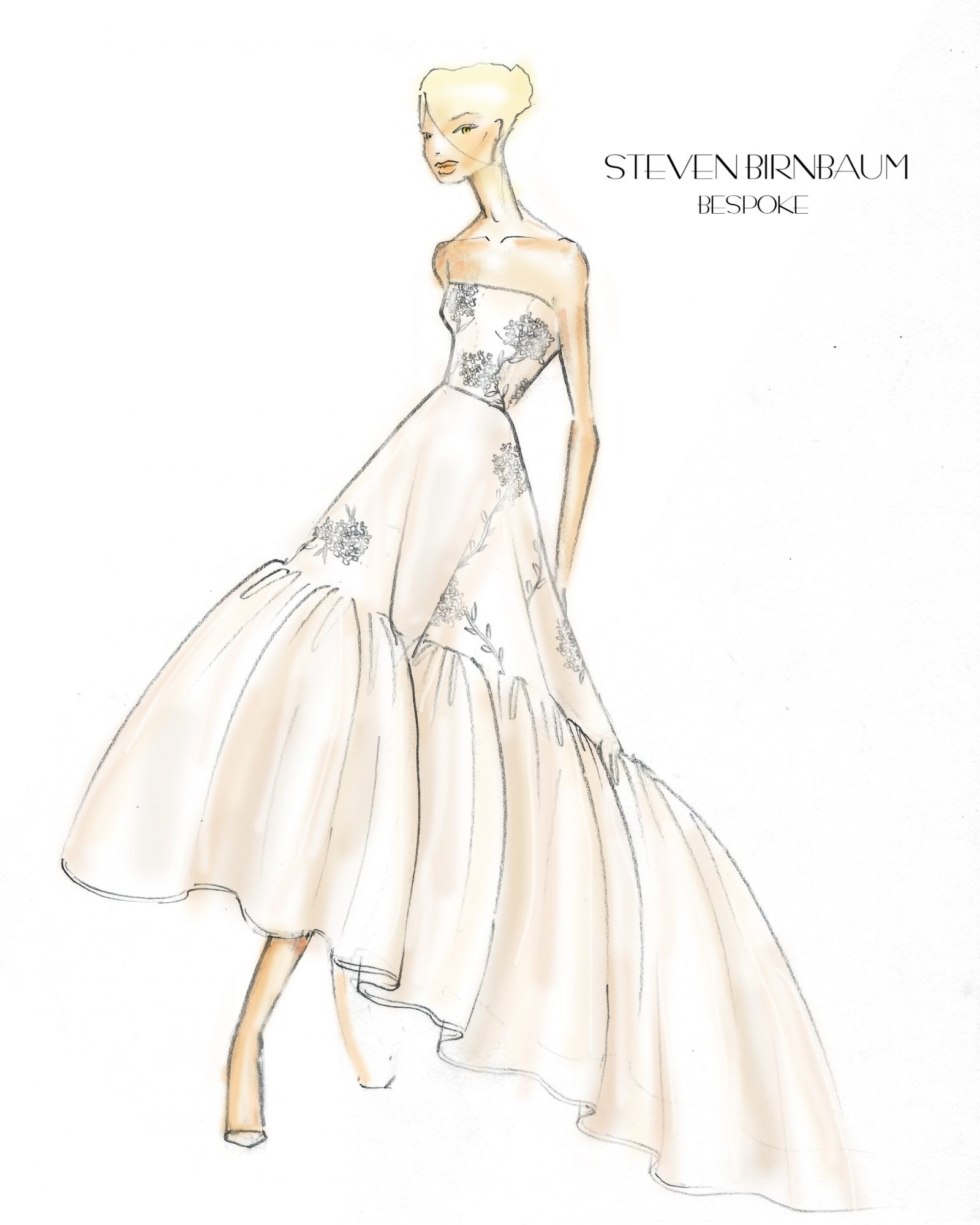 Exclusive Get A First Look At The Spring 2020 Bridal Collections Martha Stewart