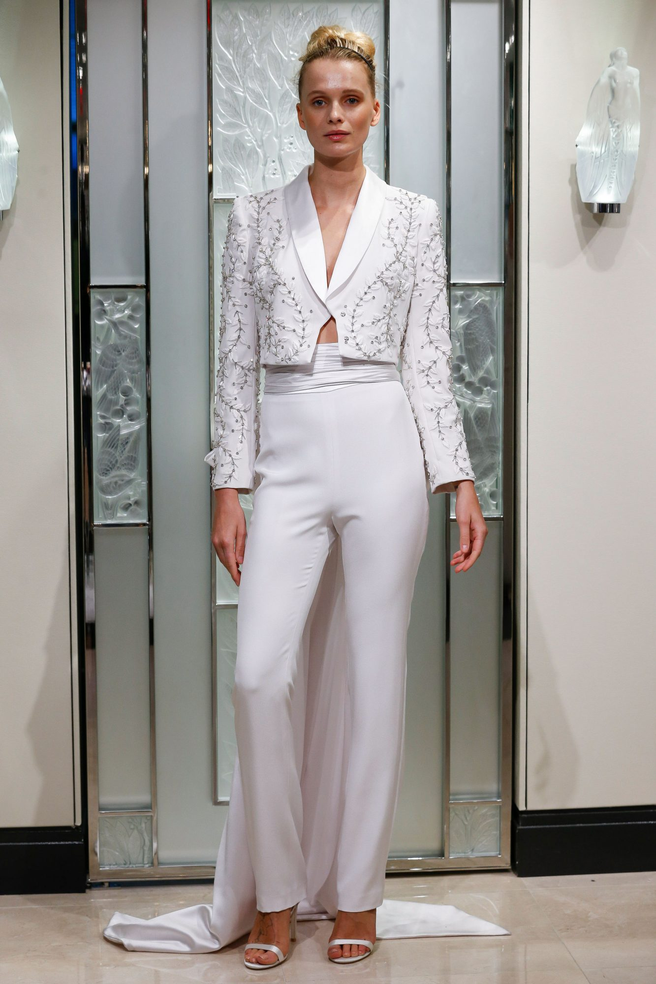 gracy accad pants jacket wedding dress spring 2020