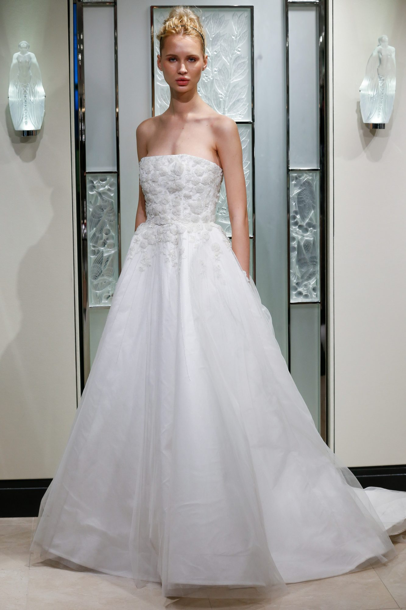 gracy accad strapless a-line wedding dress spring 2020