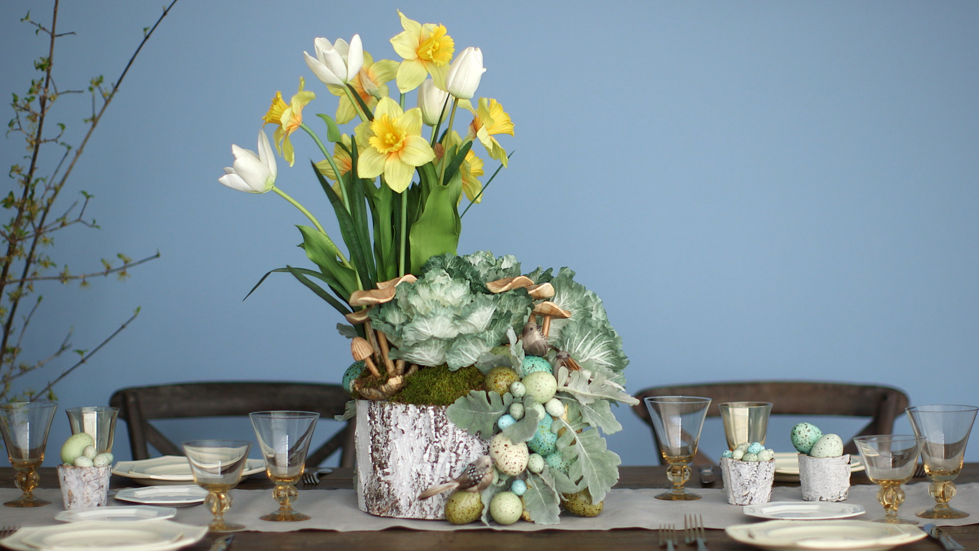 Garden-Inspired Easter Basket