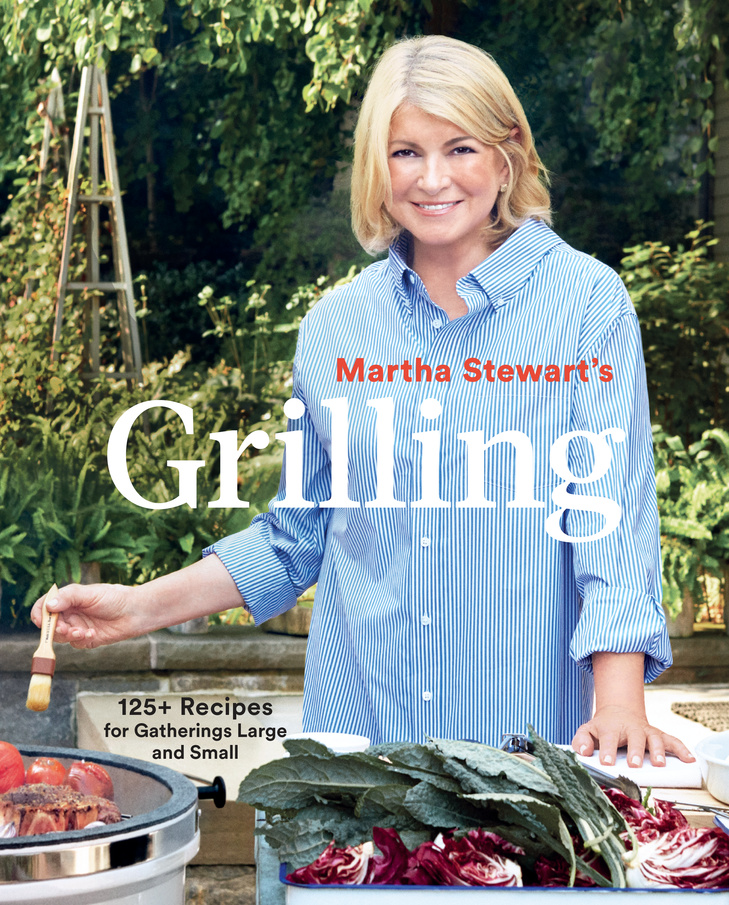 Martha Stewart's Grilling book cover