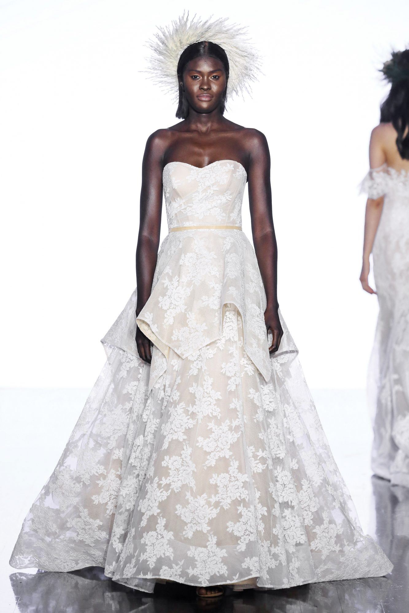 wtoo by watters strapless lace wedding dress spring 2020