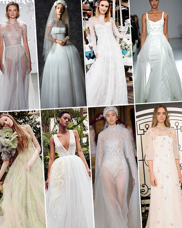 spring 2020 bridal fashion week trends