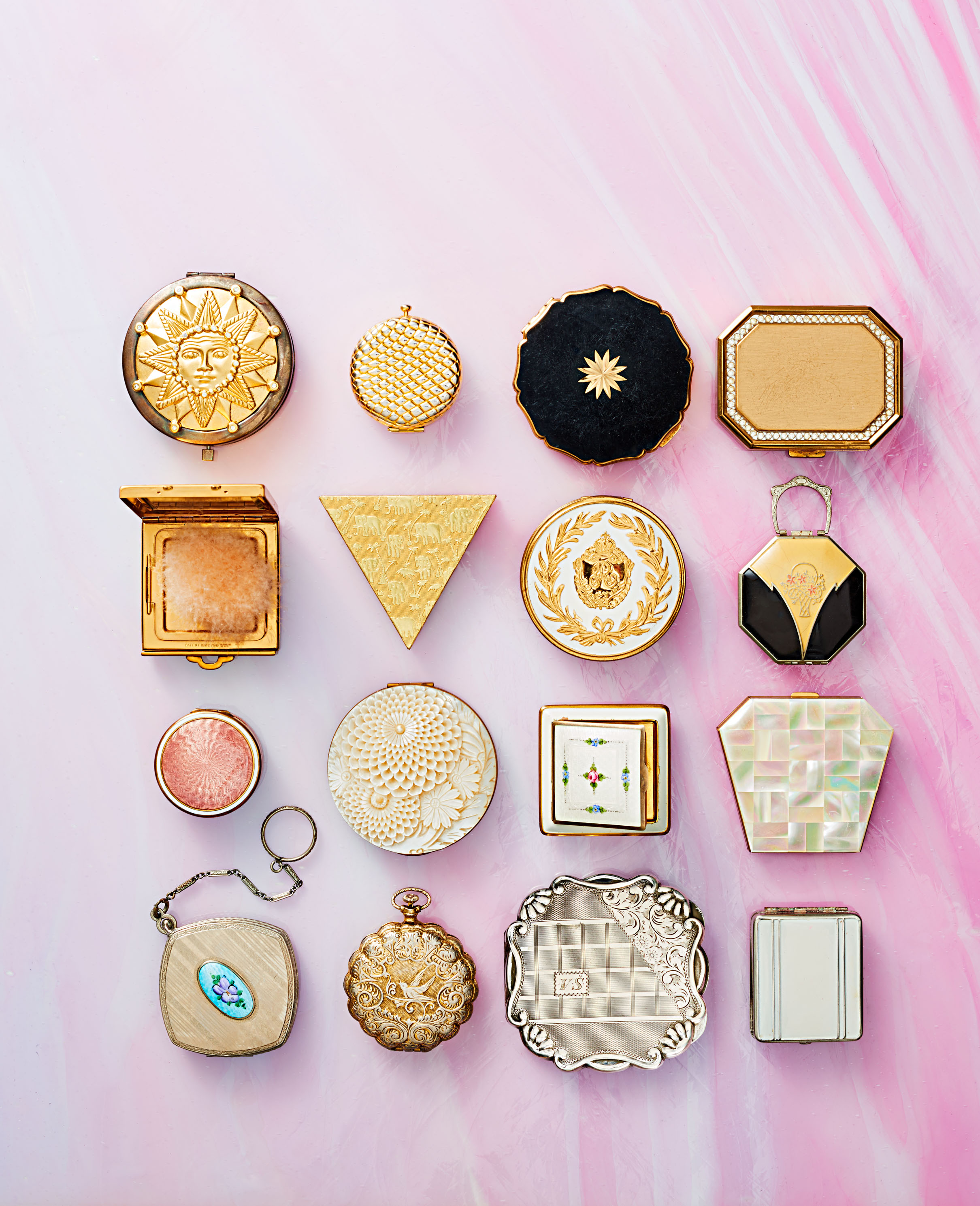 vintage compact mirrors