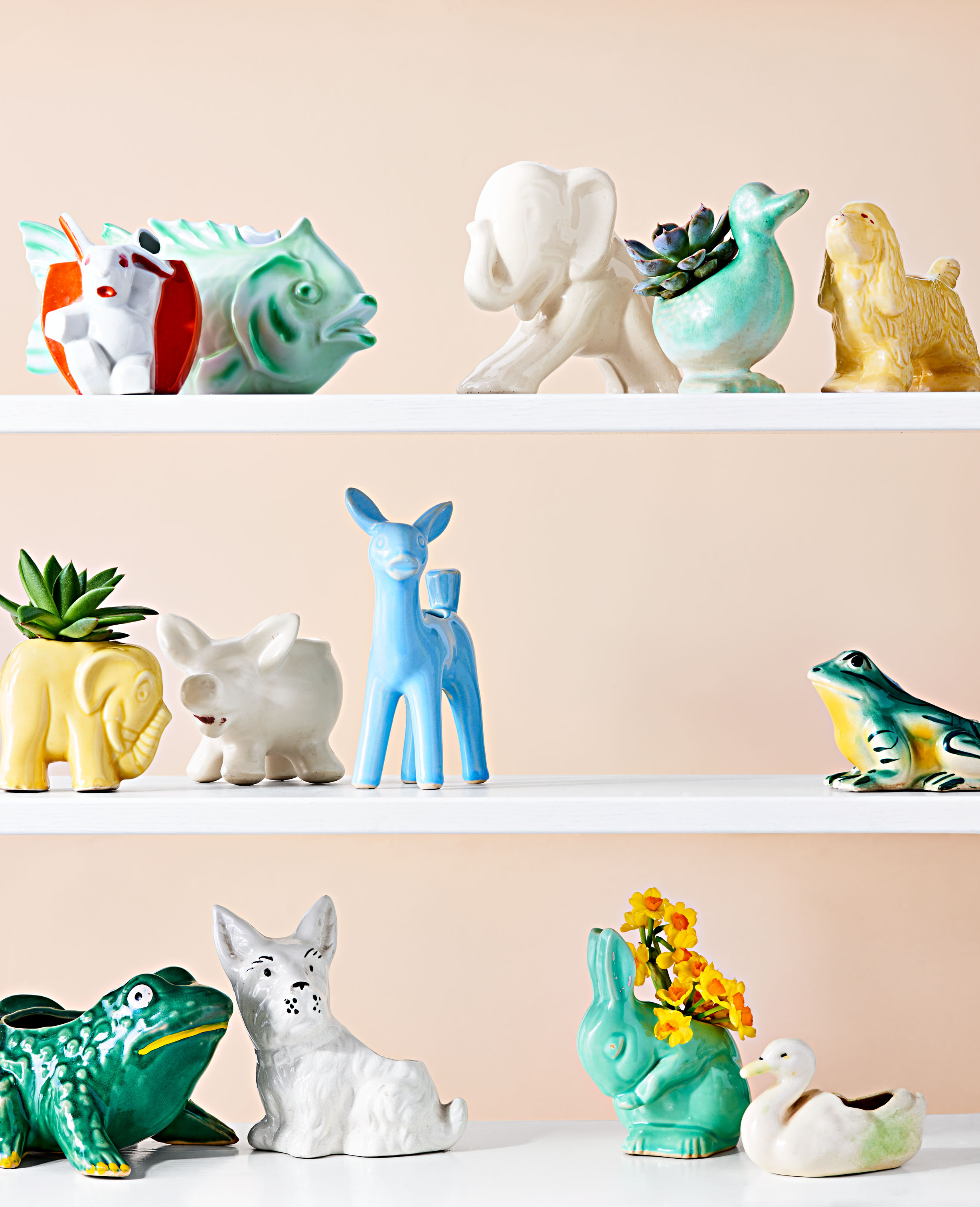 Ceramic Planters Collectable Items