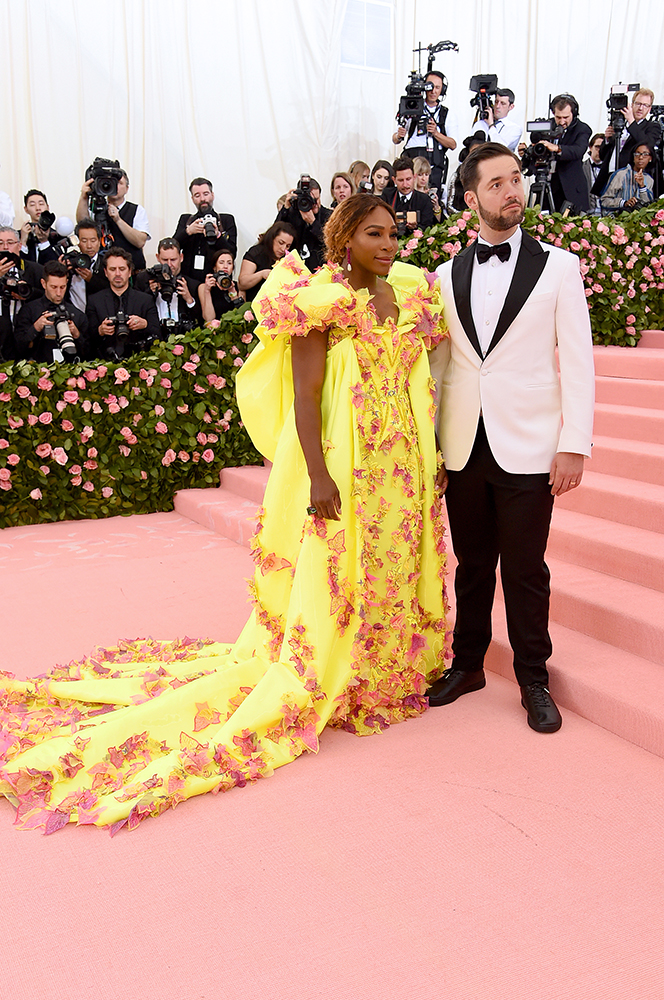 Serena Williams and Alexis Ohanian 2019 Met Gala