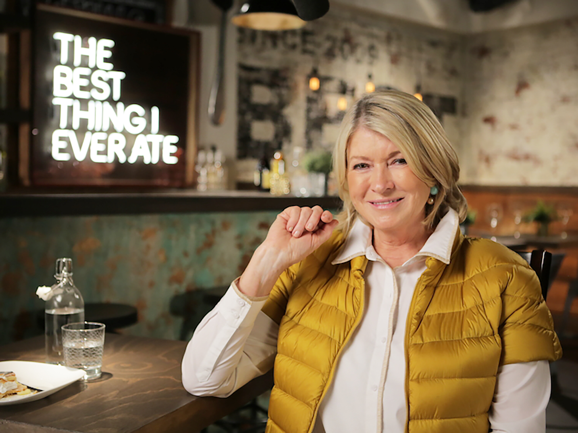 Martha Stewart appears on the Cooking Channel