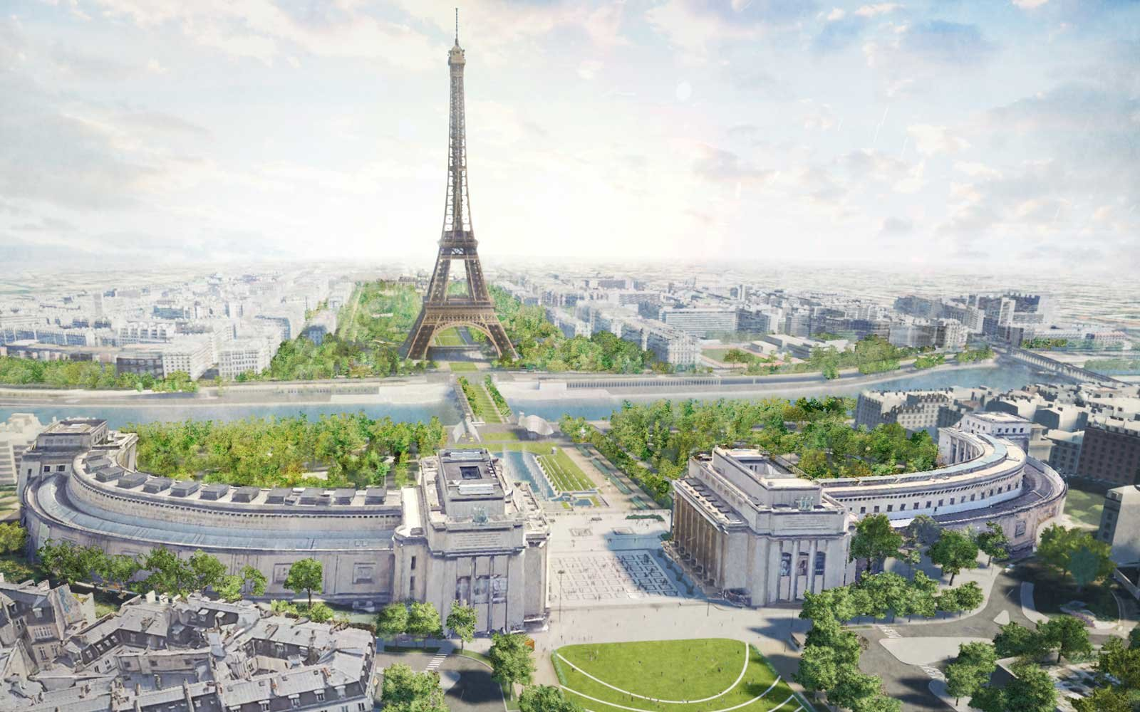 Effiel Tower Green Project