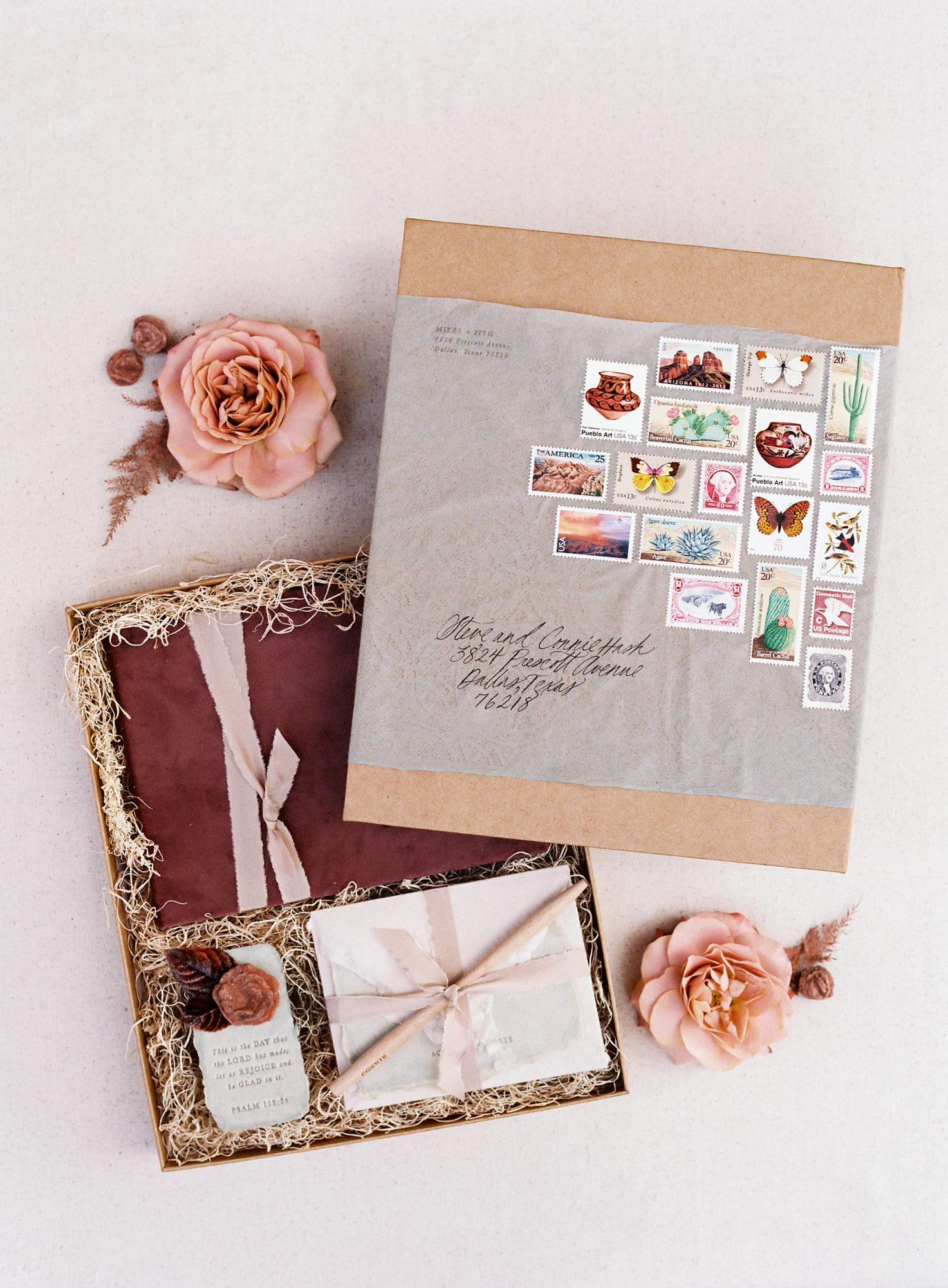 stefanie terrel wedding invites stationary suite