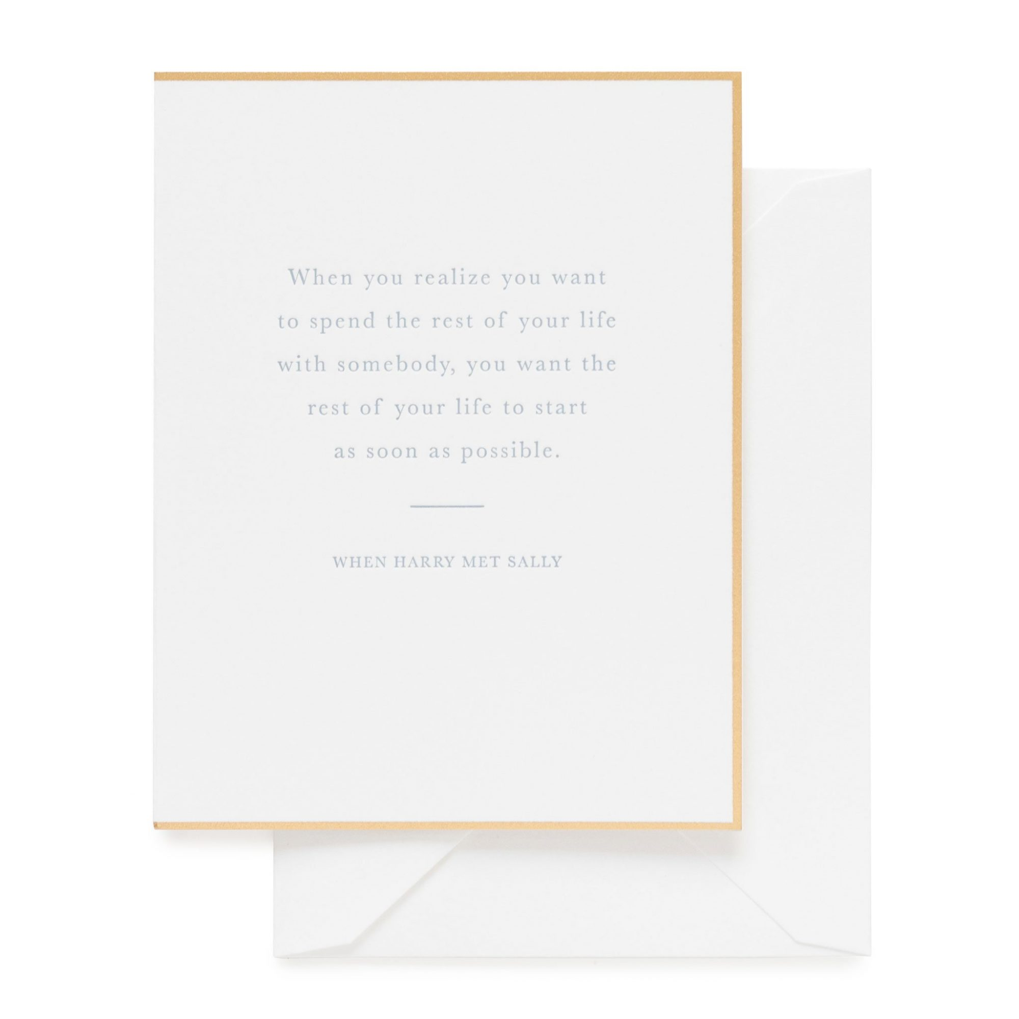 """""""When You Realize"""" Greeting Card"""