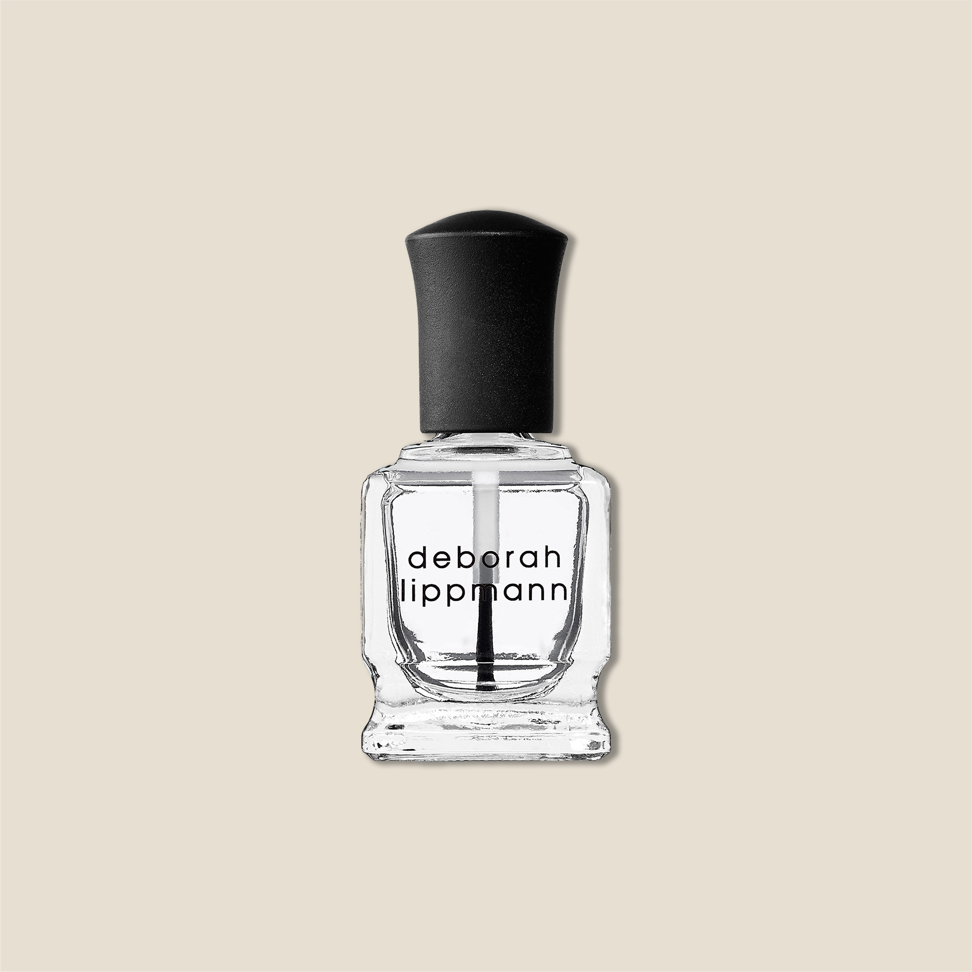 Deborah Lippman base coat nail polish.