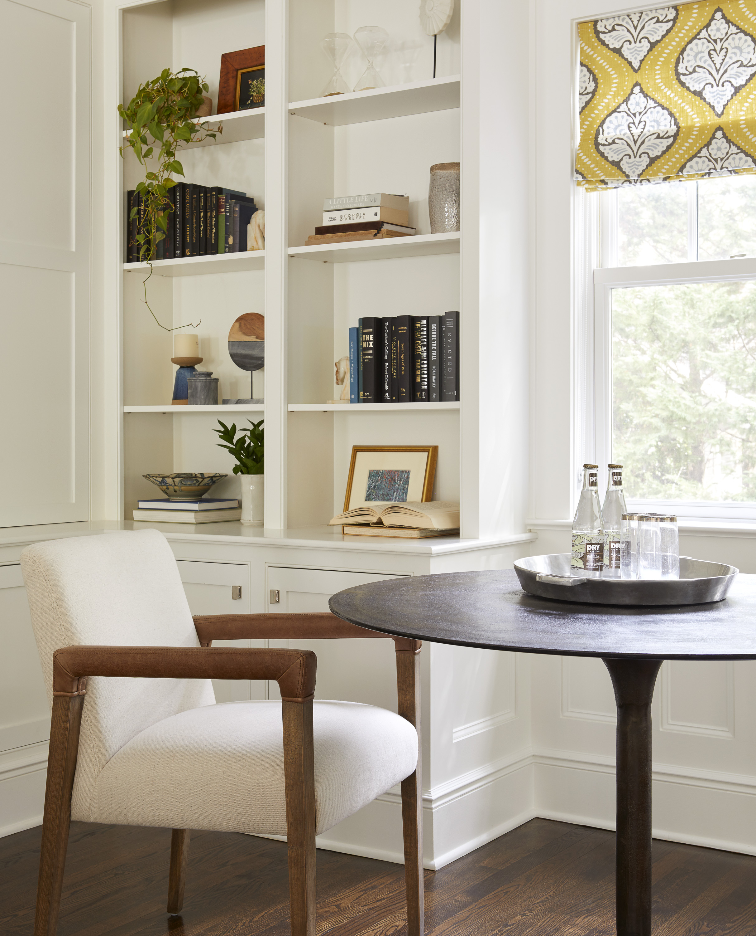 new jersey home tour storage details chair and table