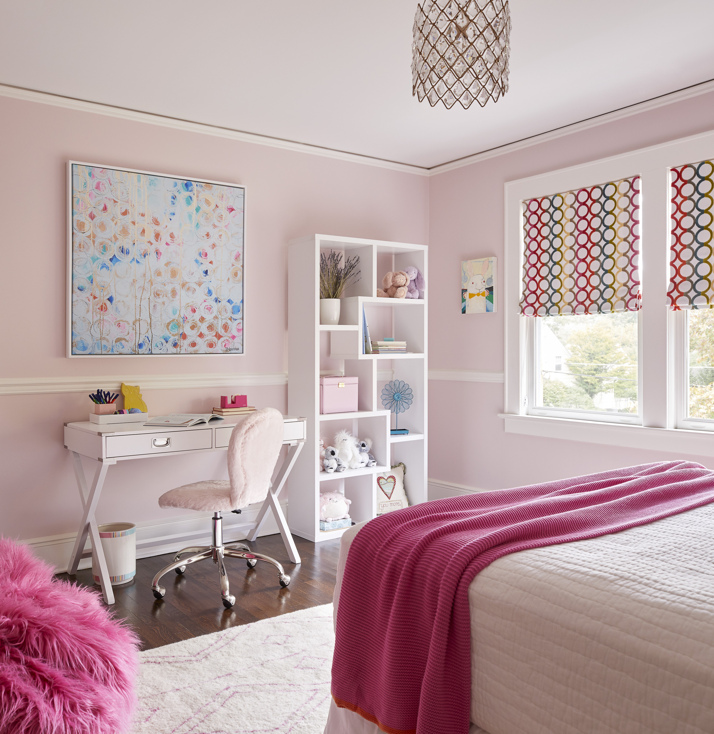 new jersey home tour pink bedroom