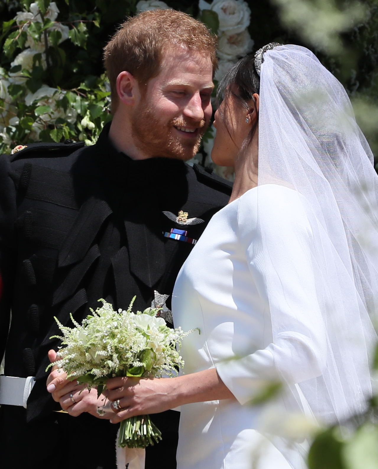 Meghan Markel Royal Wedding Bouquet