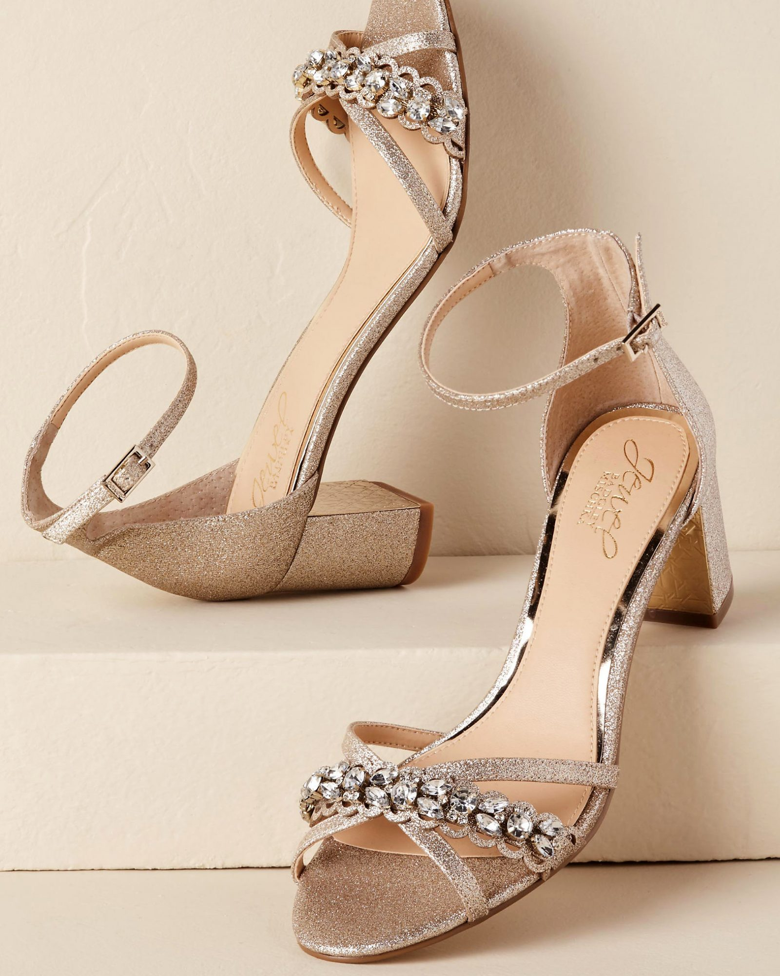 block heels bridesmaid shoes