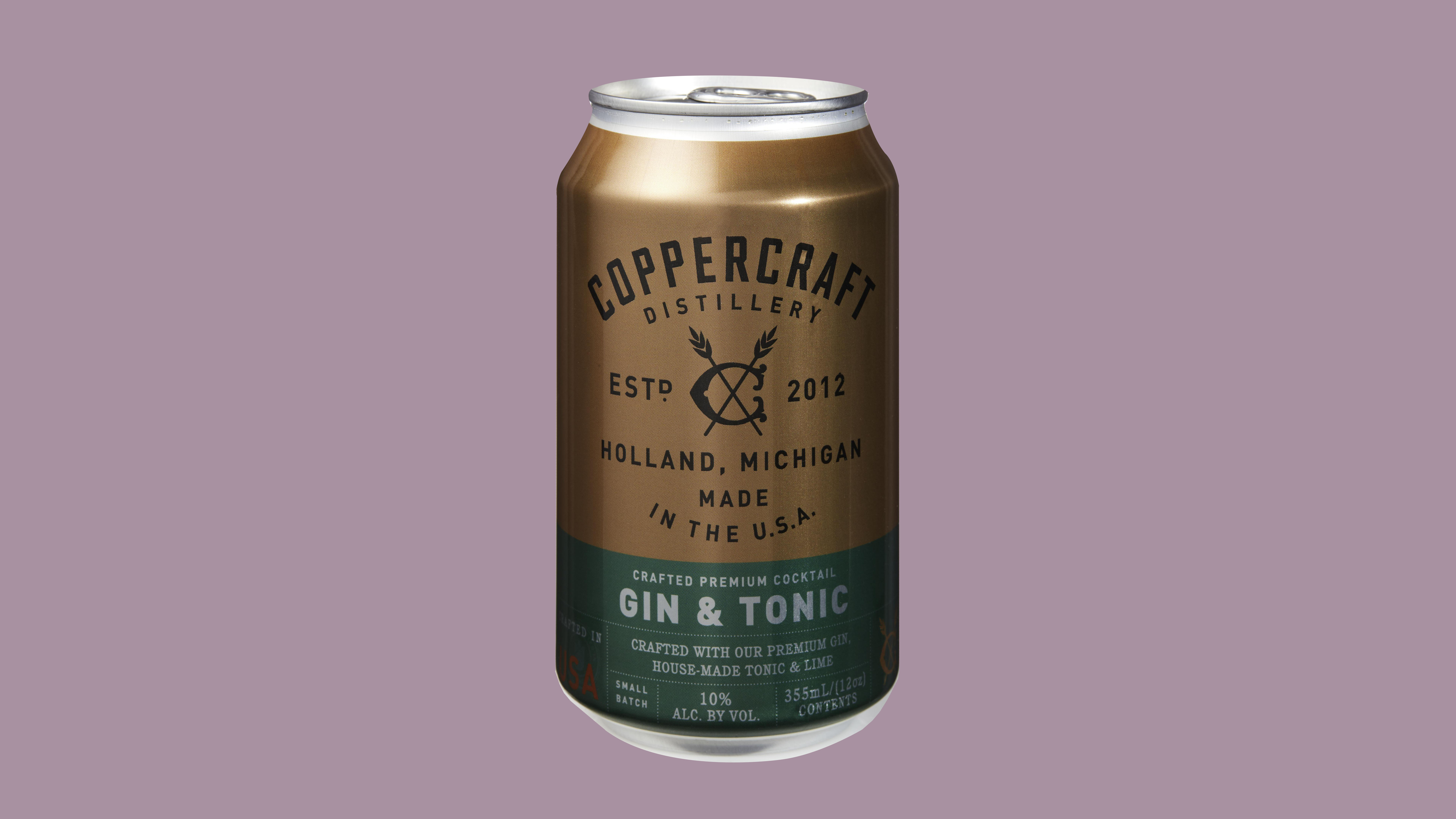 gin and tonic canned cocktail