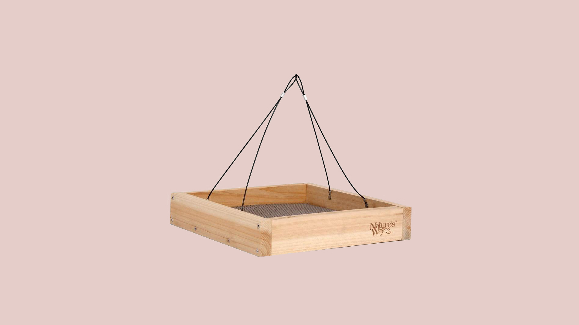 natures way tray bird feeder