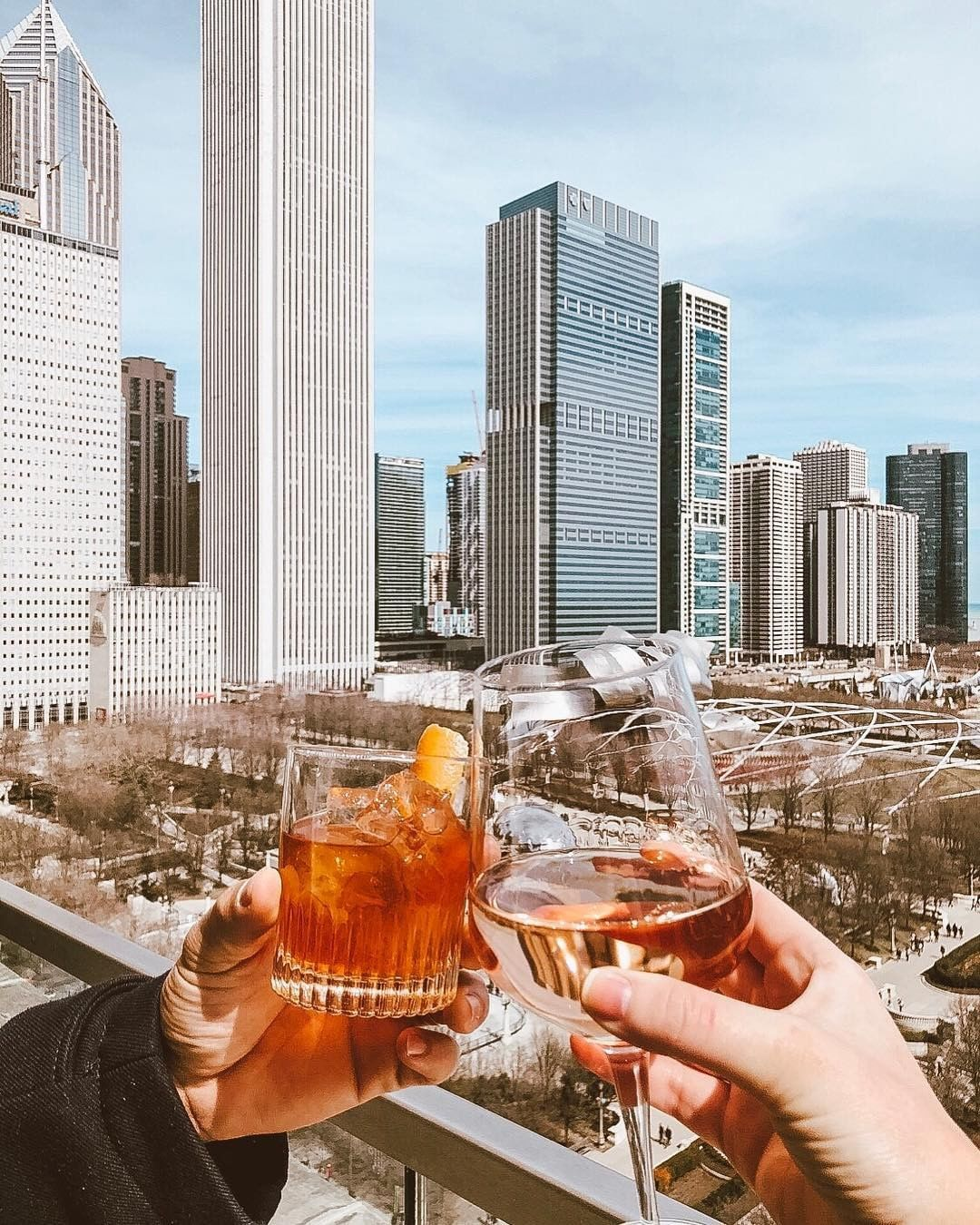 Cindy's Rooftop Bar in Chicago
