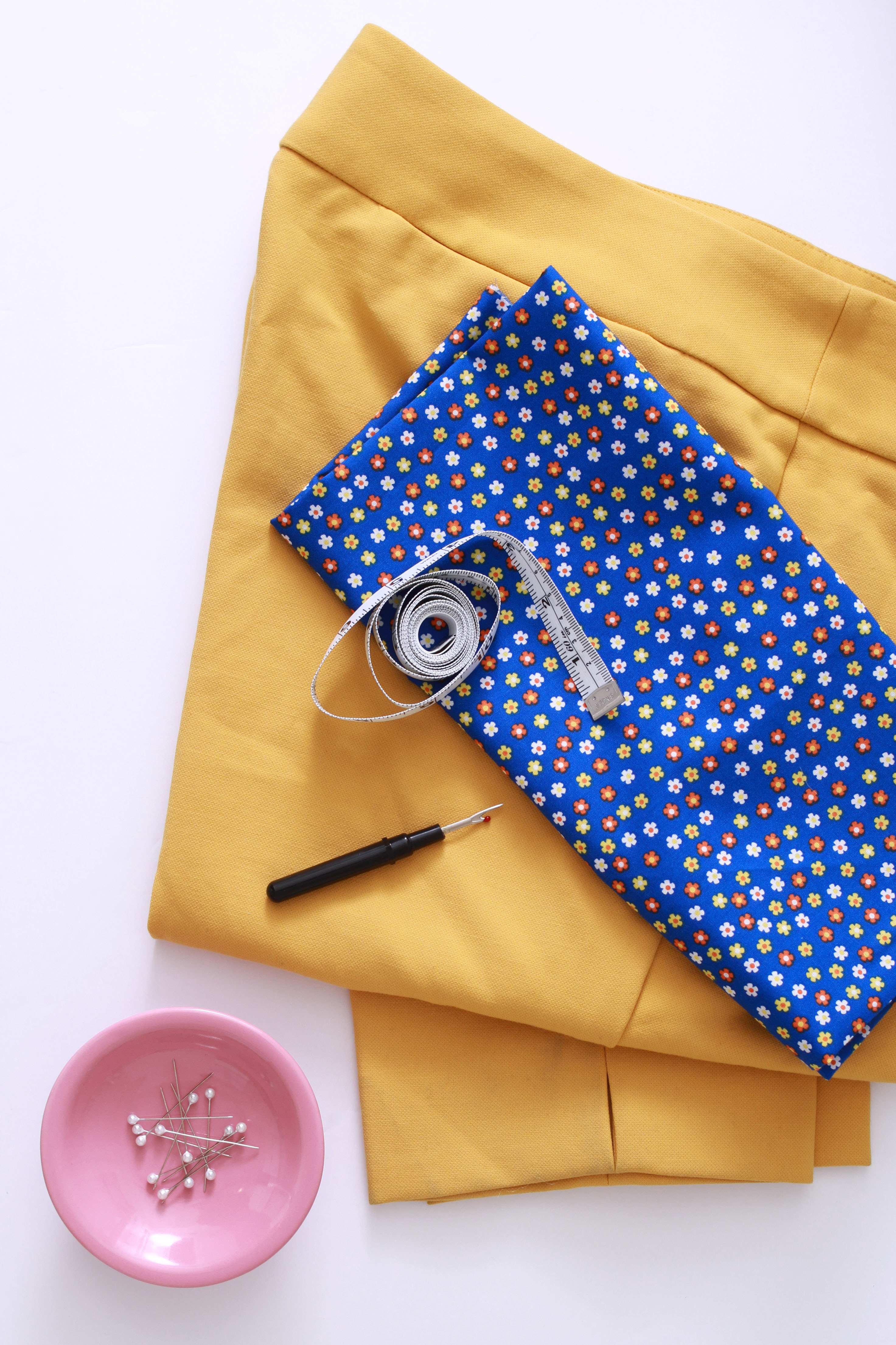 materials for sewing pockets