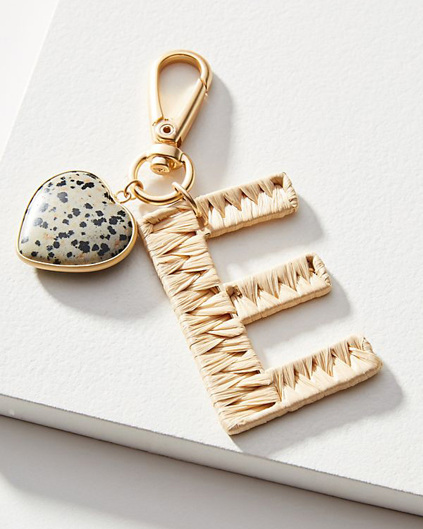 personalized gift woven keychain
