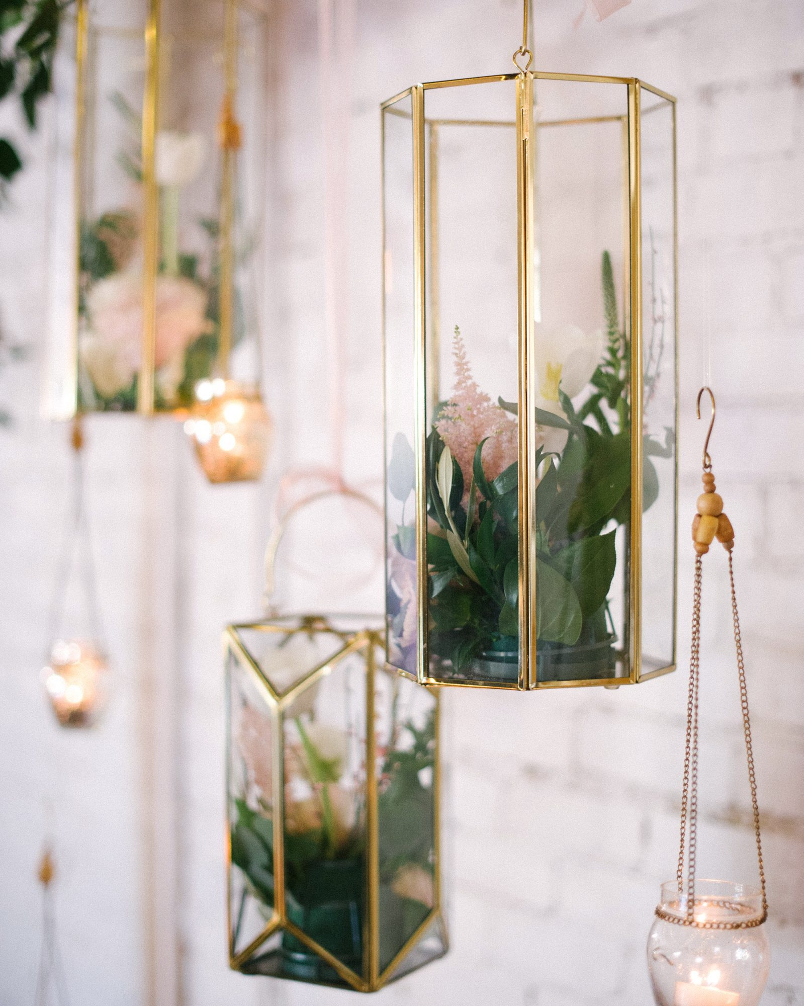 hanging terrarium wedding ideas
