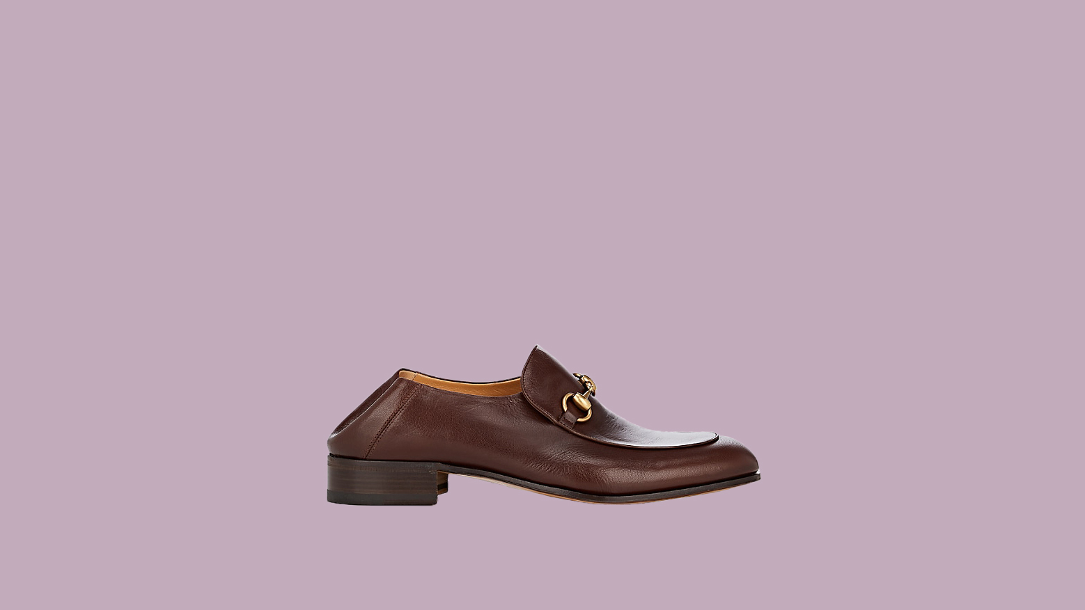 """Gucci """"Horse-Bit"""" Leather Loafers"""