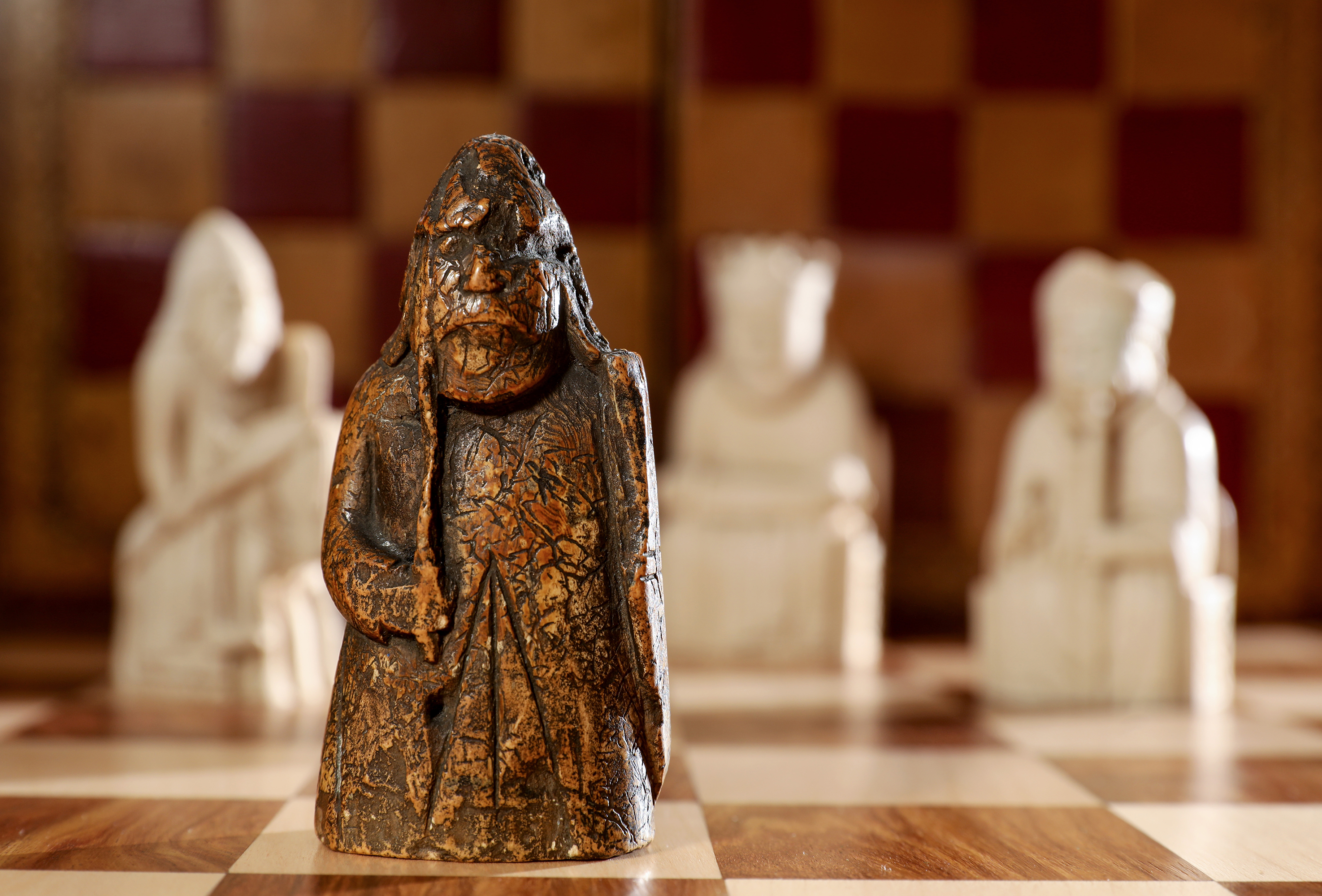 Lewis Chessman at Sotheby's Auction House