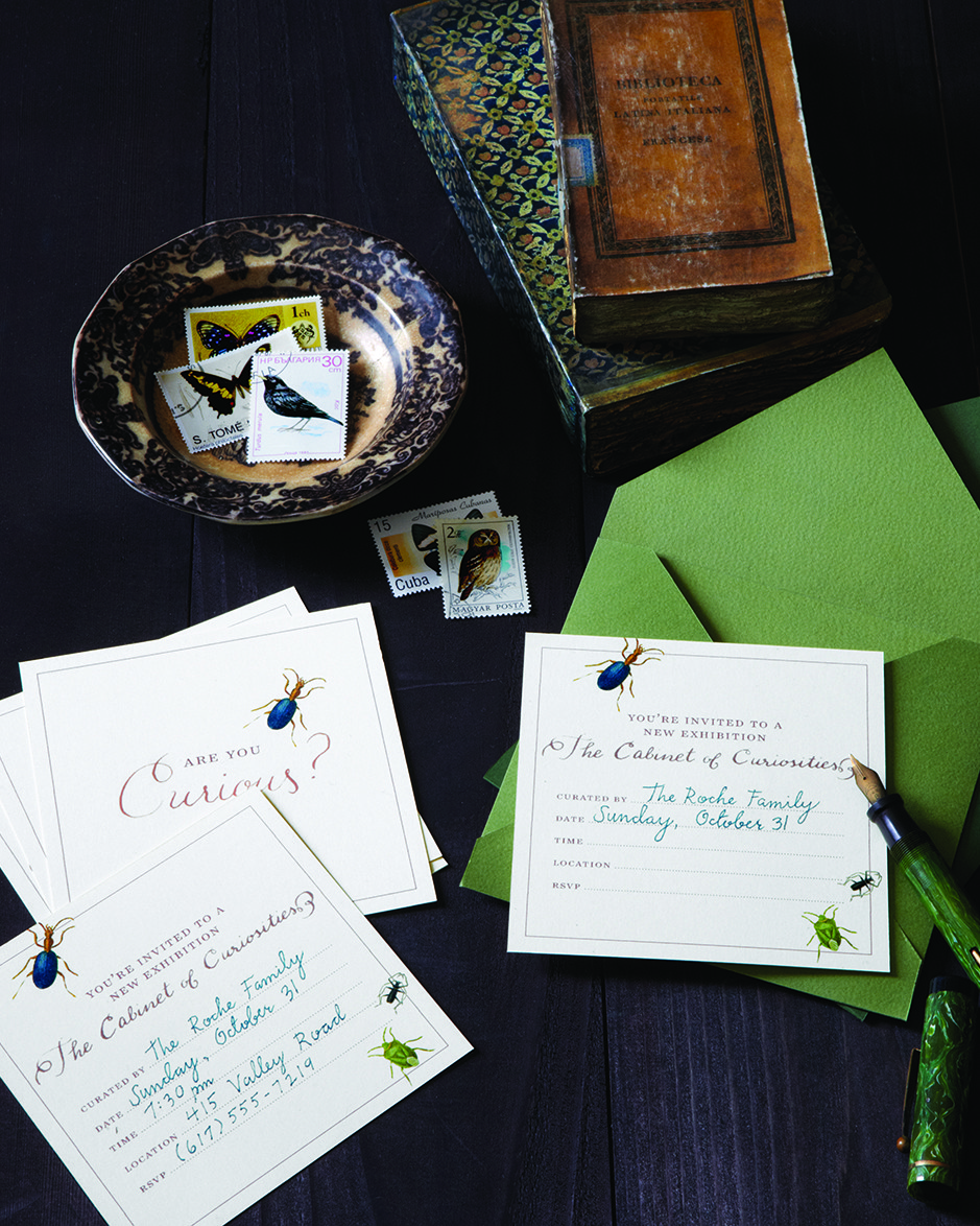 Creepy-Crawly Invitations