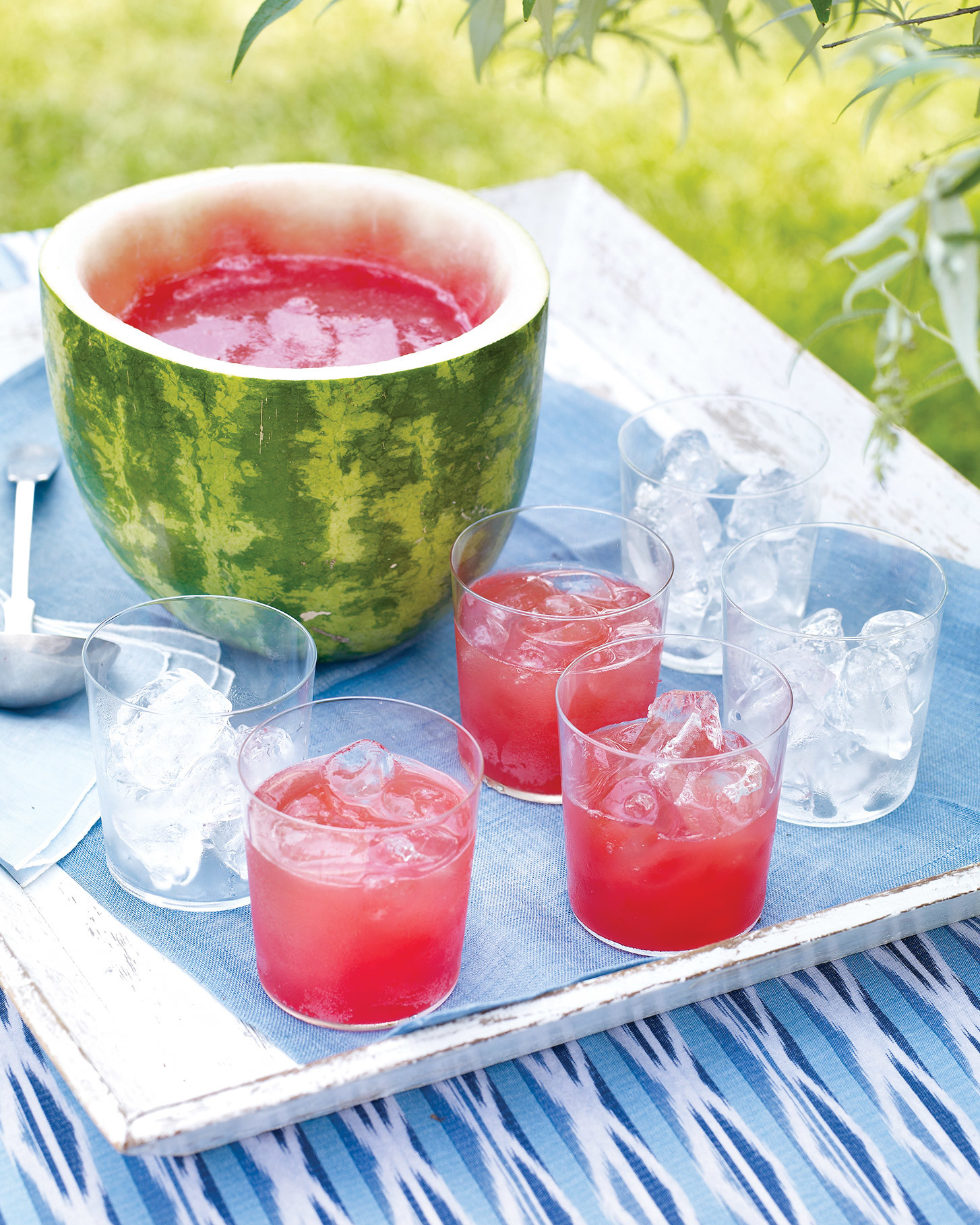 Scoop Out a Watermelon Punch Bowl