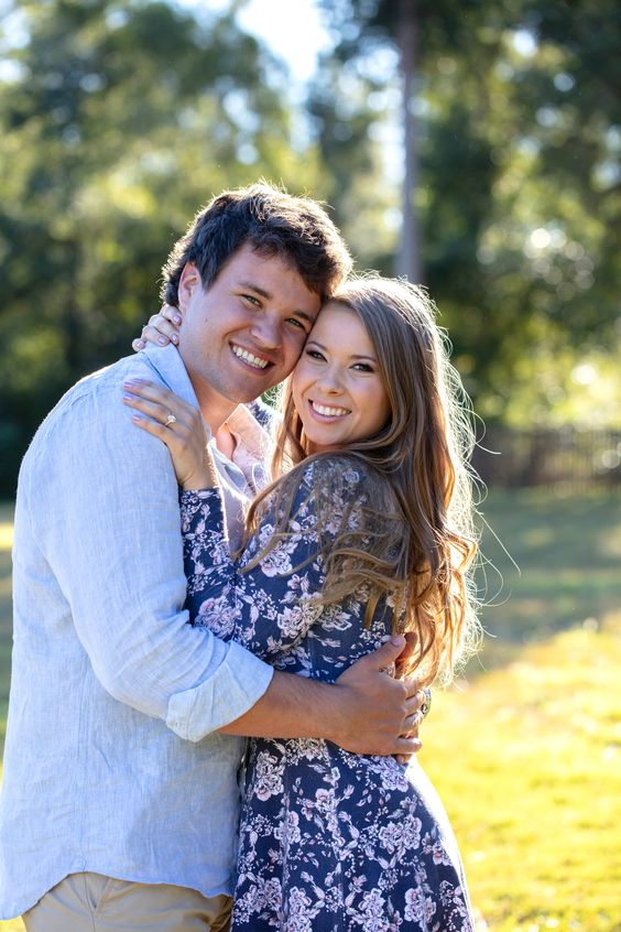 Bindi Irwin and Chandler Powell